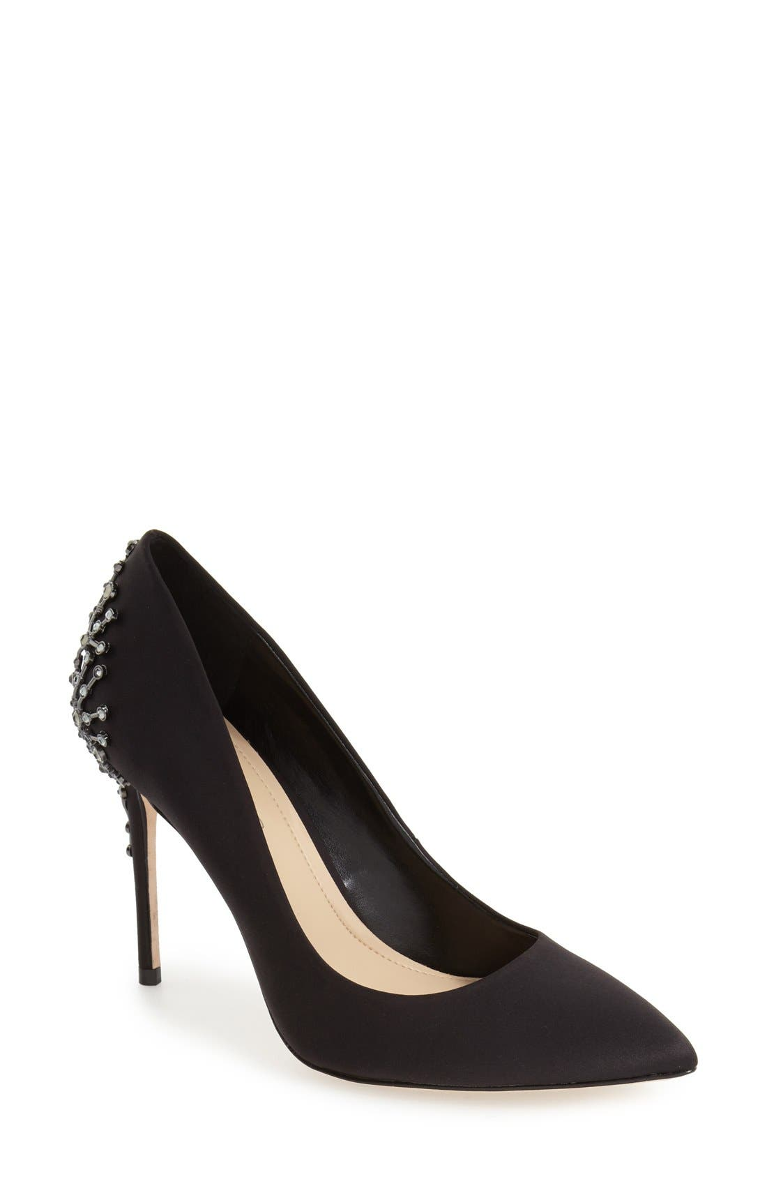 Alternate Image 1 Selected - Imagine by Vince Camuto Crystal Embellished Pump (Women)