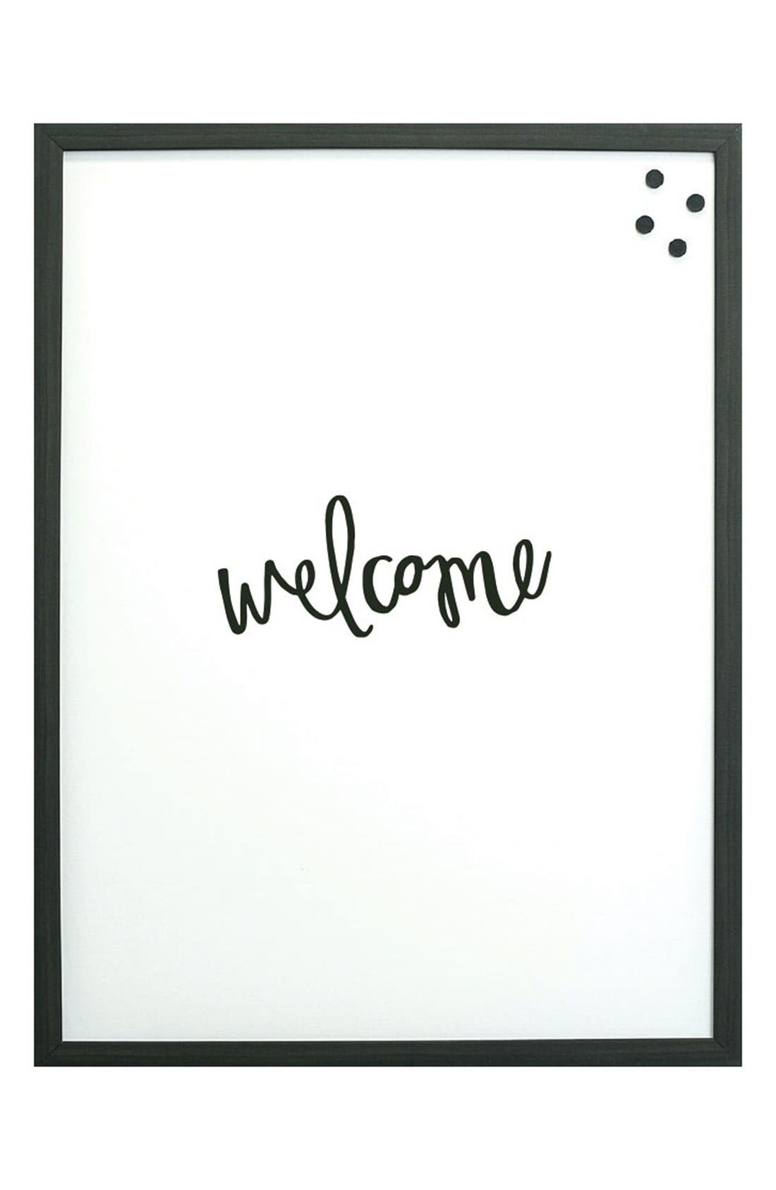 Alternate Image 1 Selected - Petal Lane 'Welcome' Magnet Board