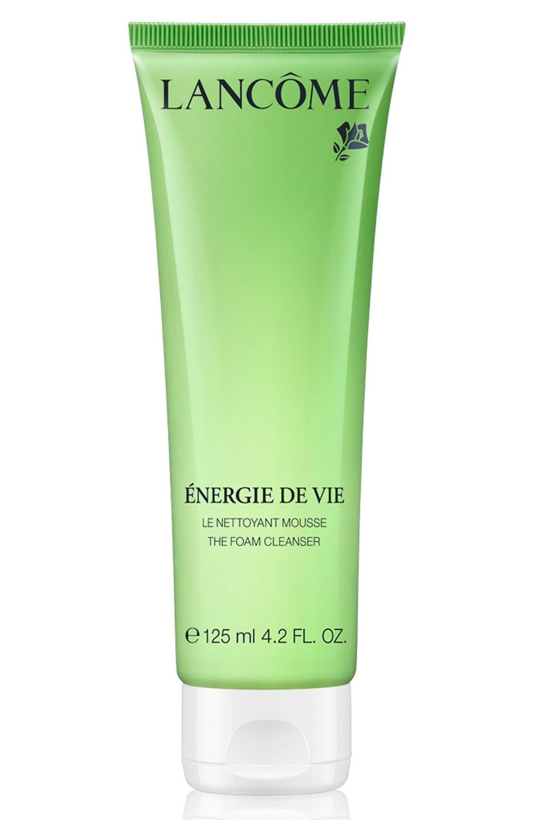 Lancôme Énergie de Vie Smoothing & Purifying Foam Cleanser