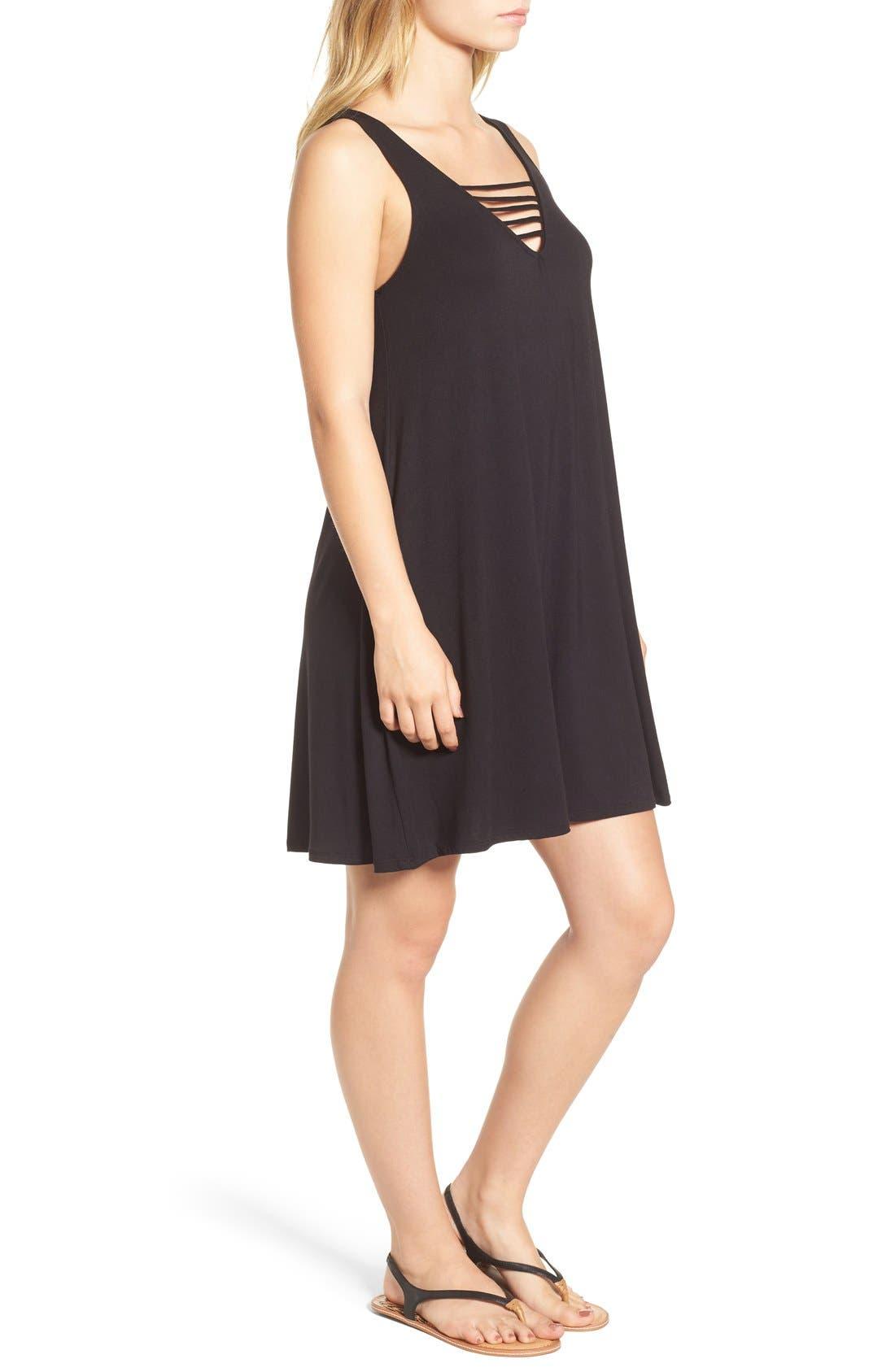 Alternate Image 3  - Socialite 'Serena' Strappy Tank Dress