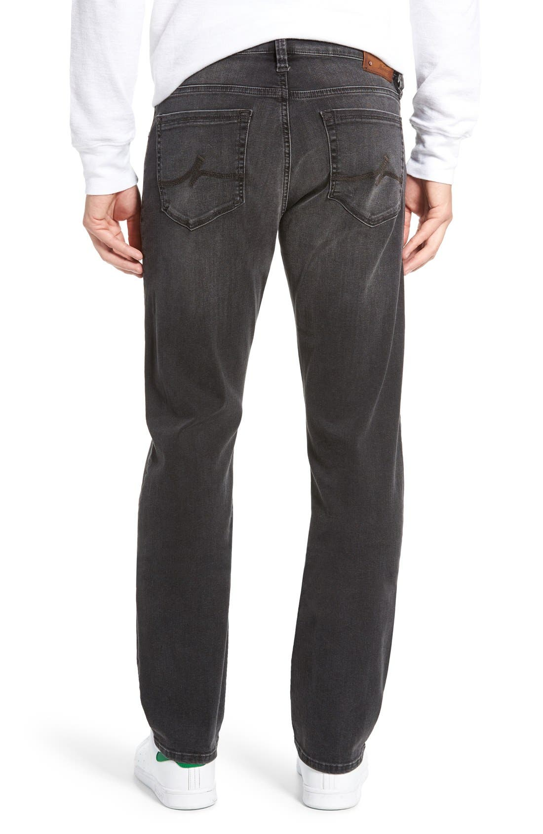 'Courage' Straight Leg Jeans,                             Alternate thumbnail 2, color,                             Courage Coal Soft