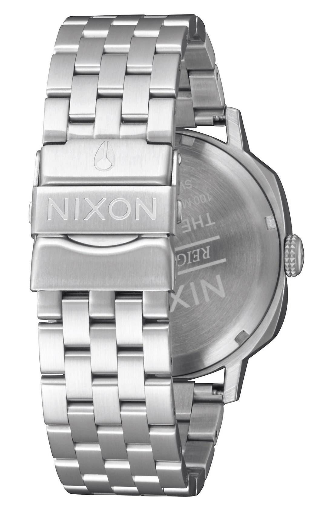 Alternate Image 2  - Nixon 'The Regent II' Bracelet Watch, 42mm