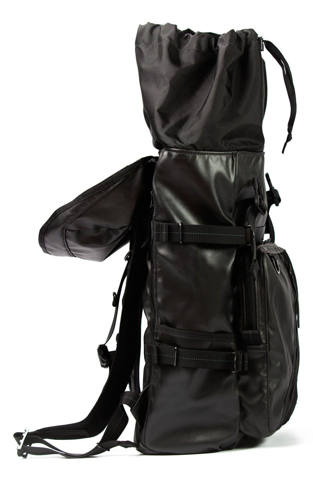 'NightHawk' Backpack,                             Alternate thumbnail 3, color,                             Black