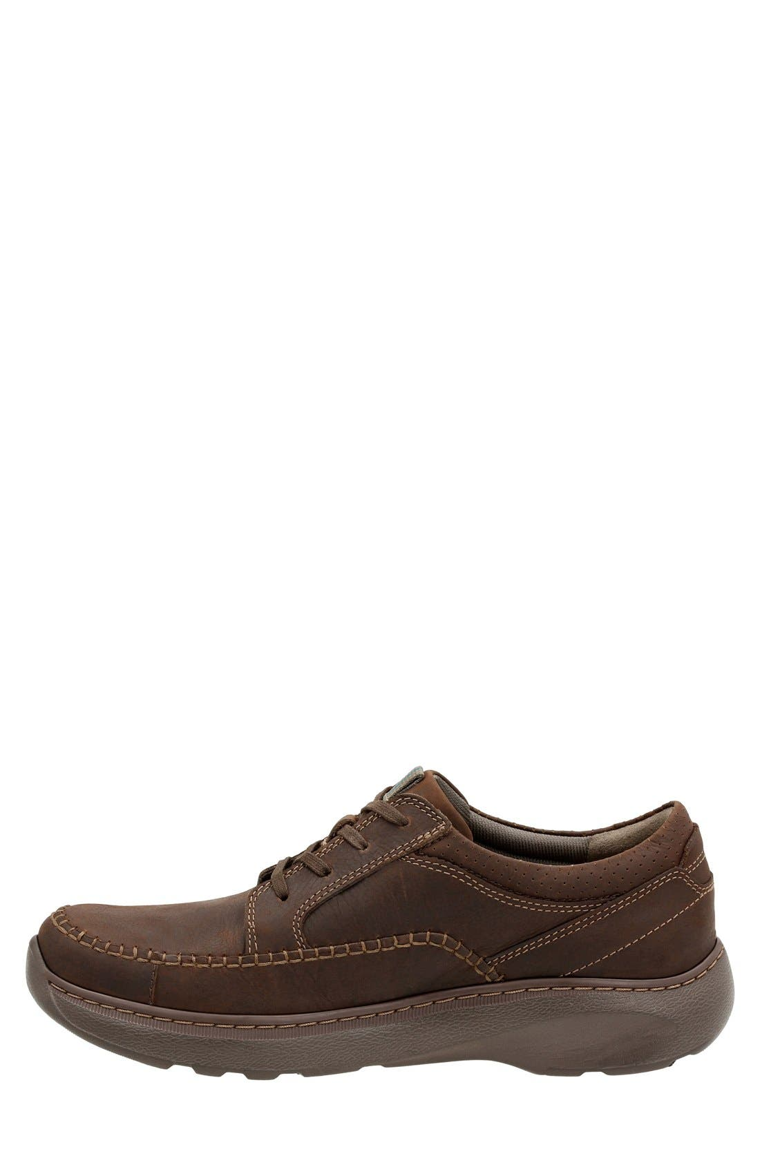'Charton Vibe' Moc Toe Derby,                             Alternate thumbnail 2, color,                             Dark Brown