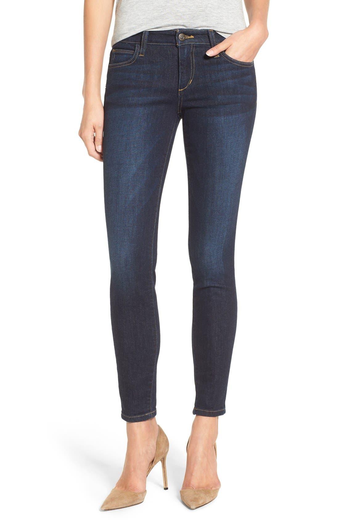 Alternate Image 1 Selected - Joe's Ankle Skinny Jeans (Rikki)