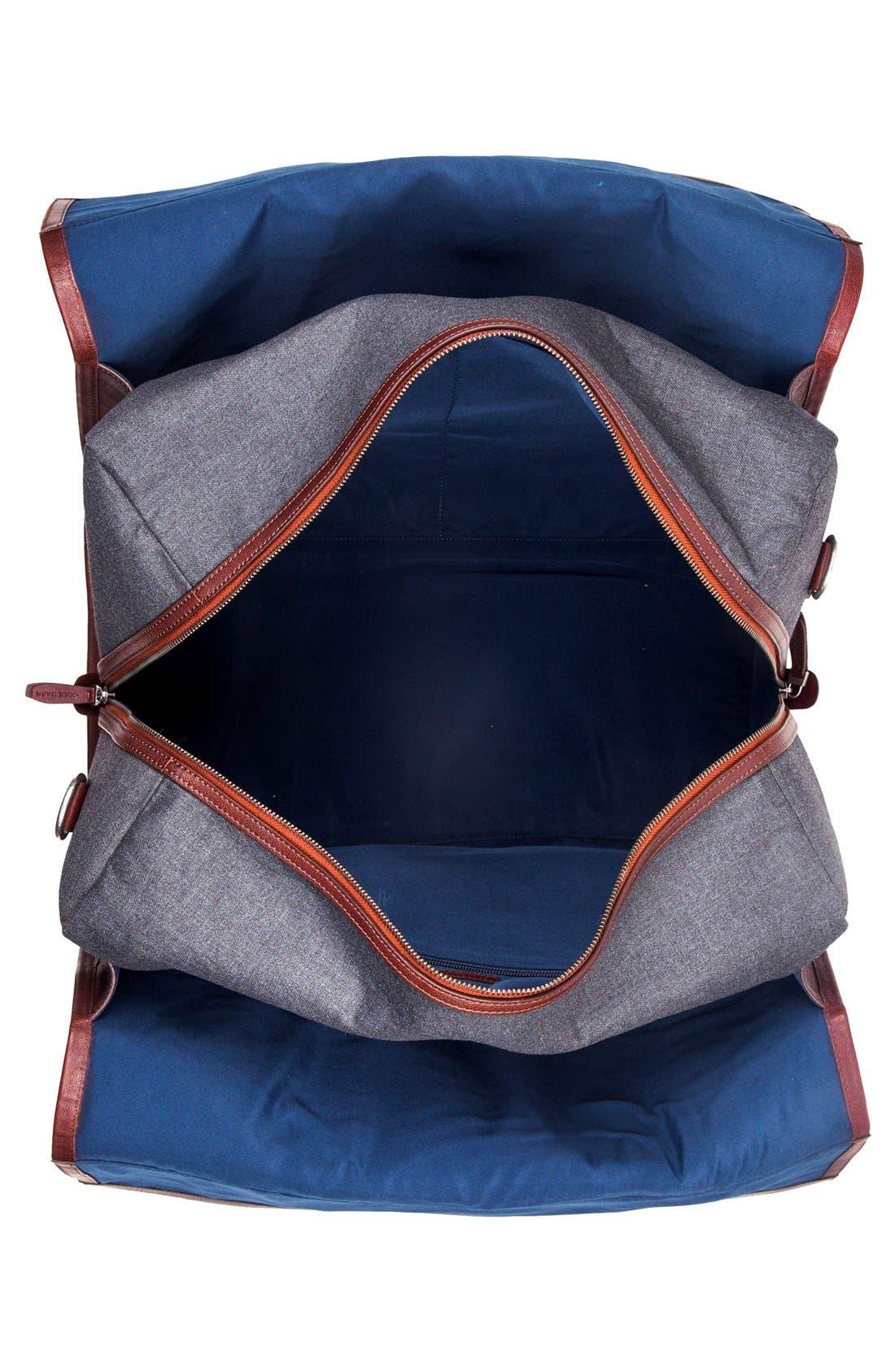 'Grafton' Duffel Bag,                             Alternate thumbnail 3, color,                             Grey