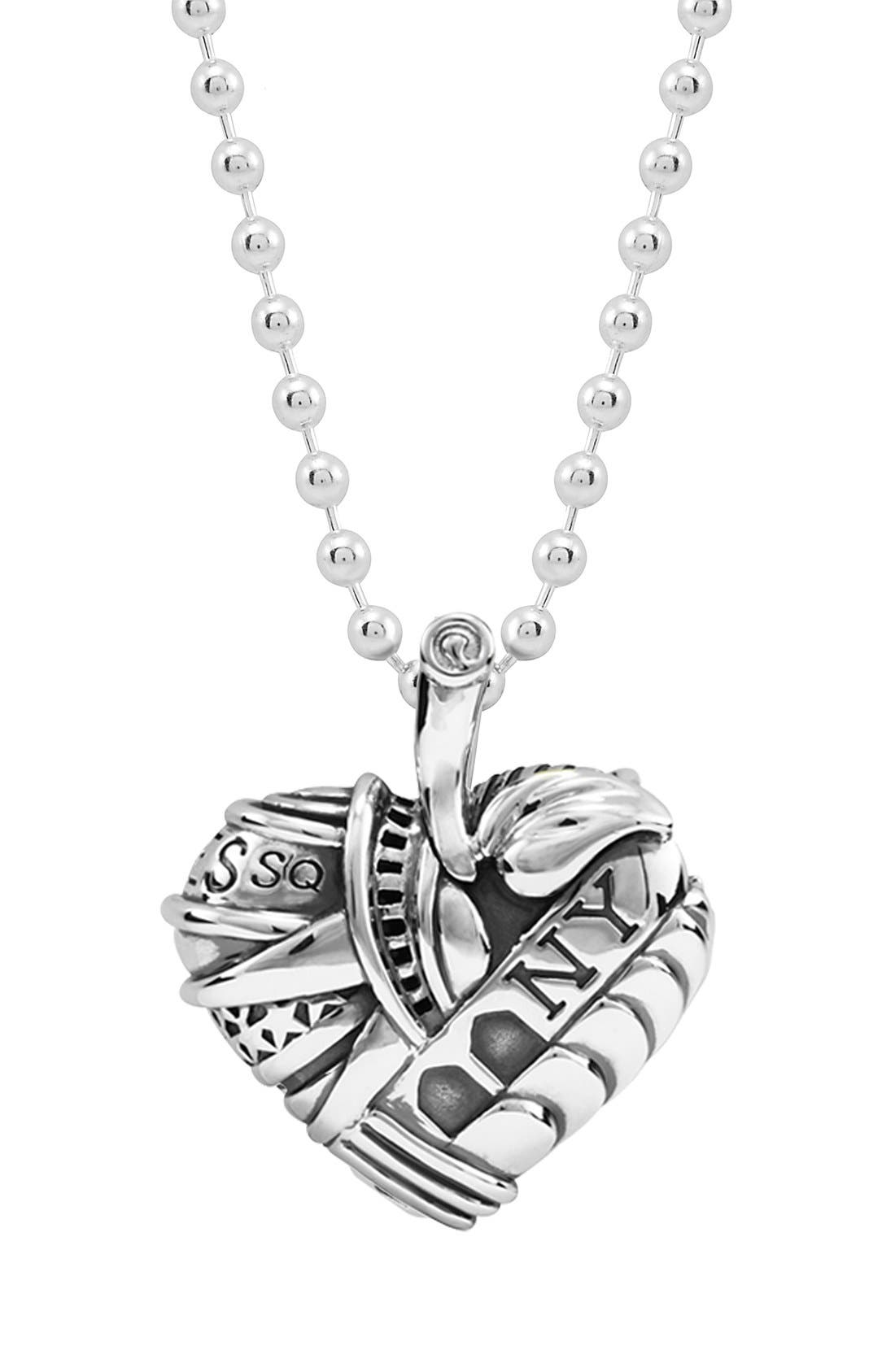 Alternate Image 3  - LAGOS 'Hearts of LAGOS - New York' Reversible Pendant Necklace (Online Only)