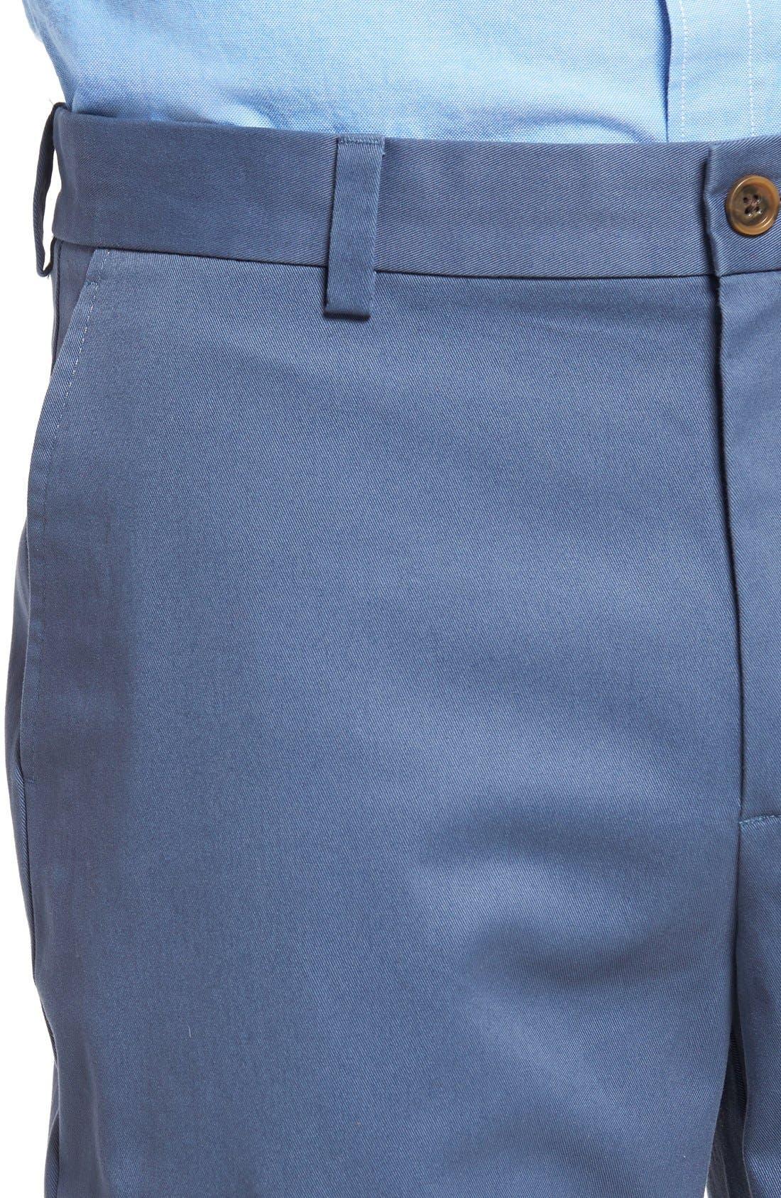 Alternate Image 5  - Nordstrom Men's Shop Wrinkle Free Straight Leg Chinos