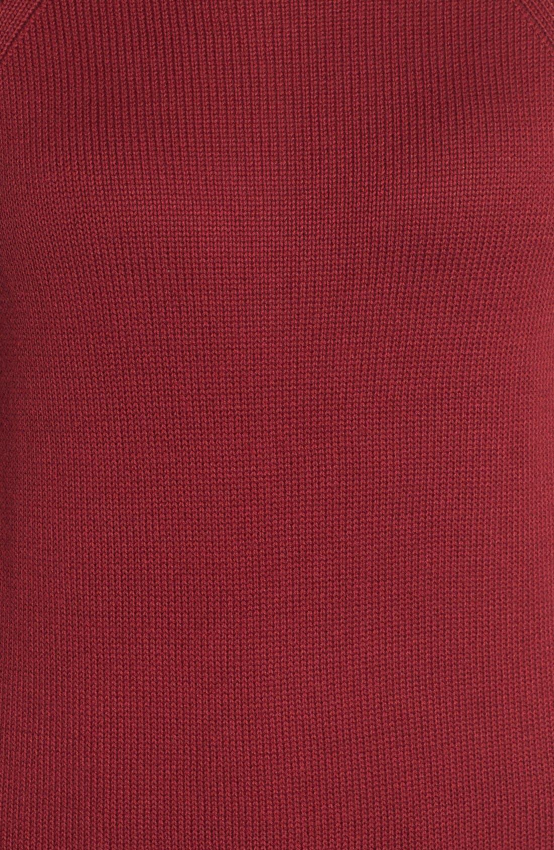 Alternate Image 5  - Caslon® Button Back Tunic Sweater (Regular & Petite)