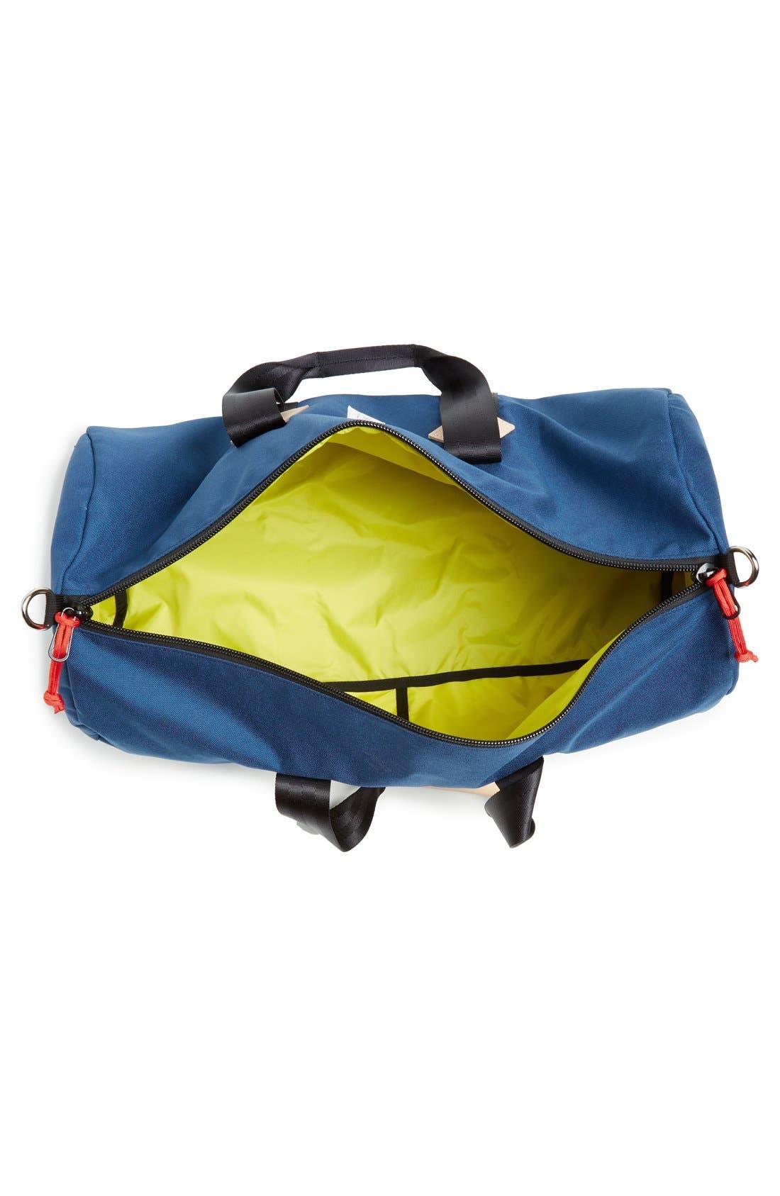 Classic Duffel Bag,                             Alternate thumbnail 4, color,                             Navy
