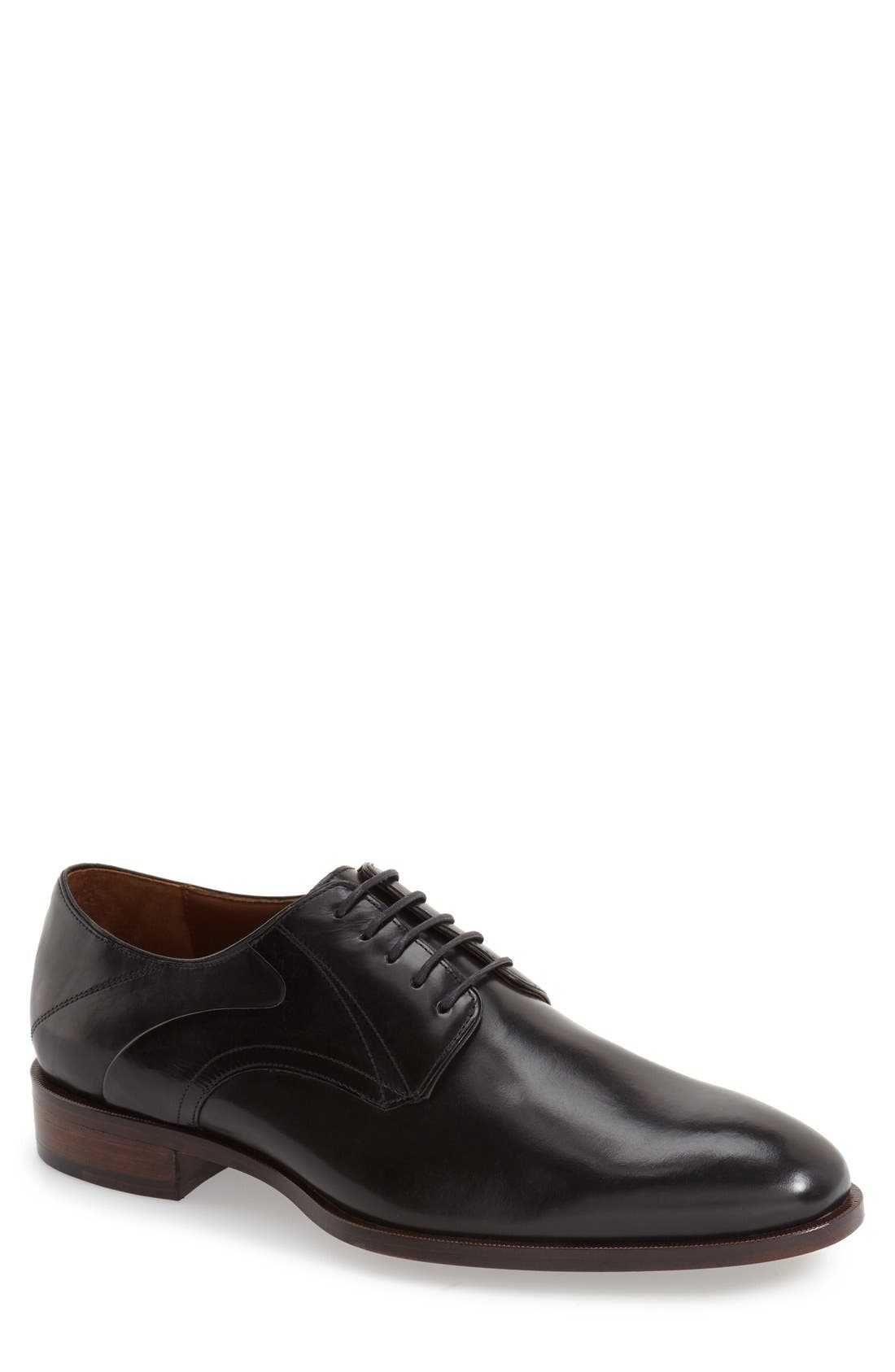 Johnston & Murphy 'Nolen' Plain Toe Derby (Men)