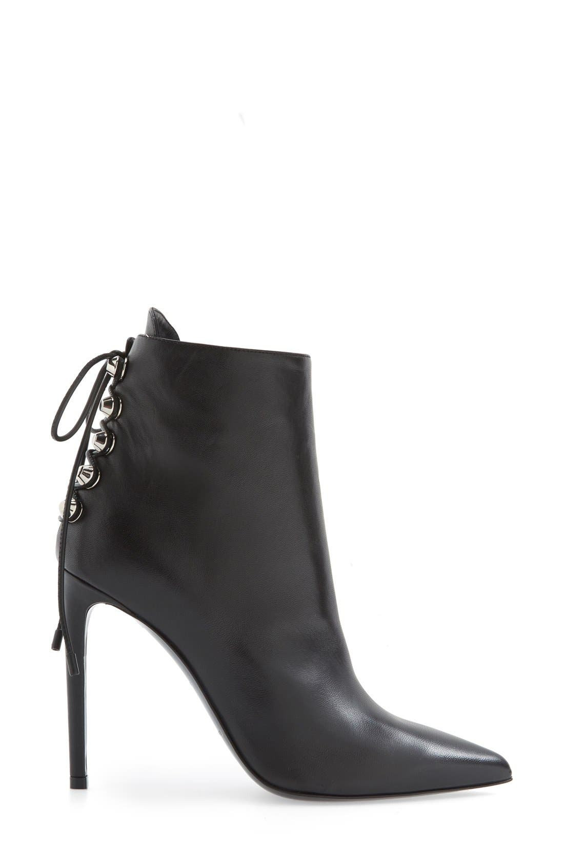 Alternate Image 3  - Balenciaga Lace-Up Back Pointy Toe Bootie (Women)