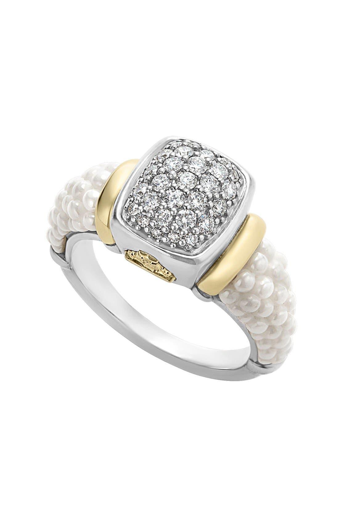 Alternate Image 1 Selected - LAGOS 'Caviar' Diamond Ring