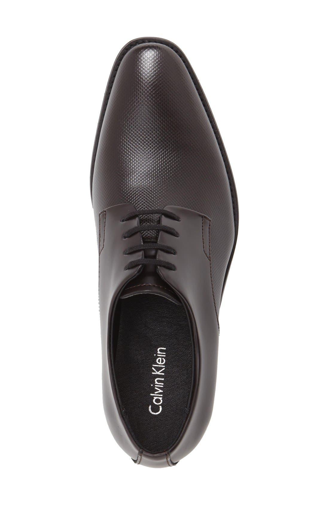 Alternate Image 3  - Calvin Klein 'Ramses' Plain Toe Derby (Men)