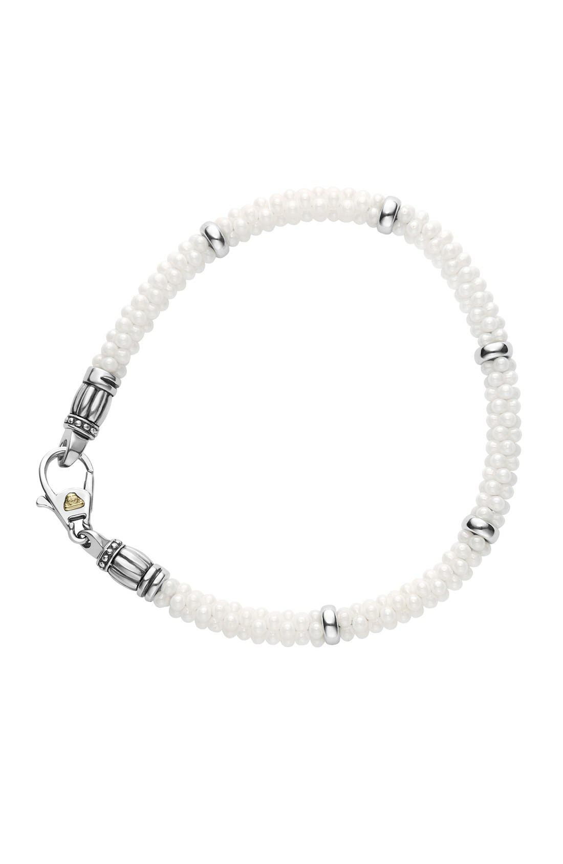 Alternate Image 2  - LAGOS 'Black & White Caviar' Bracelet
