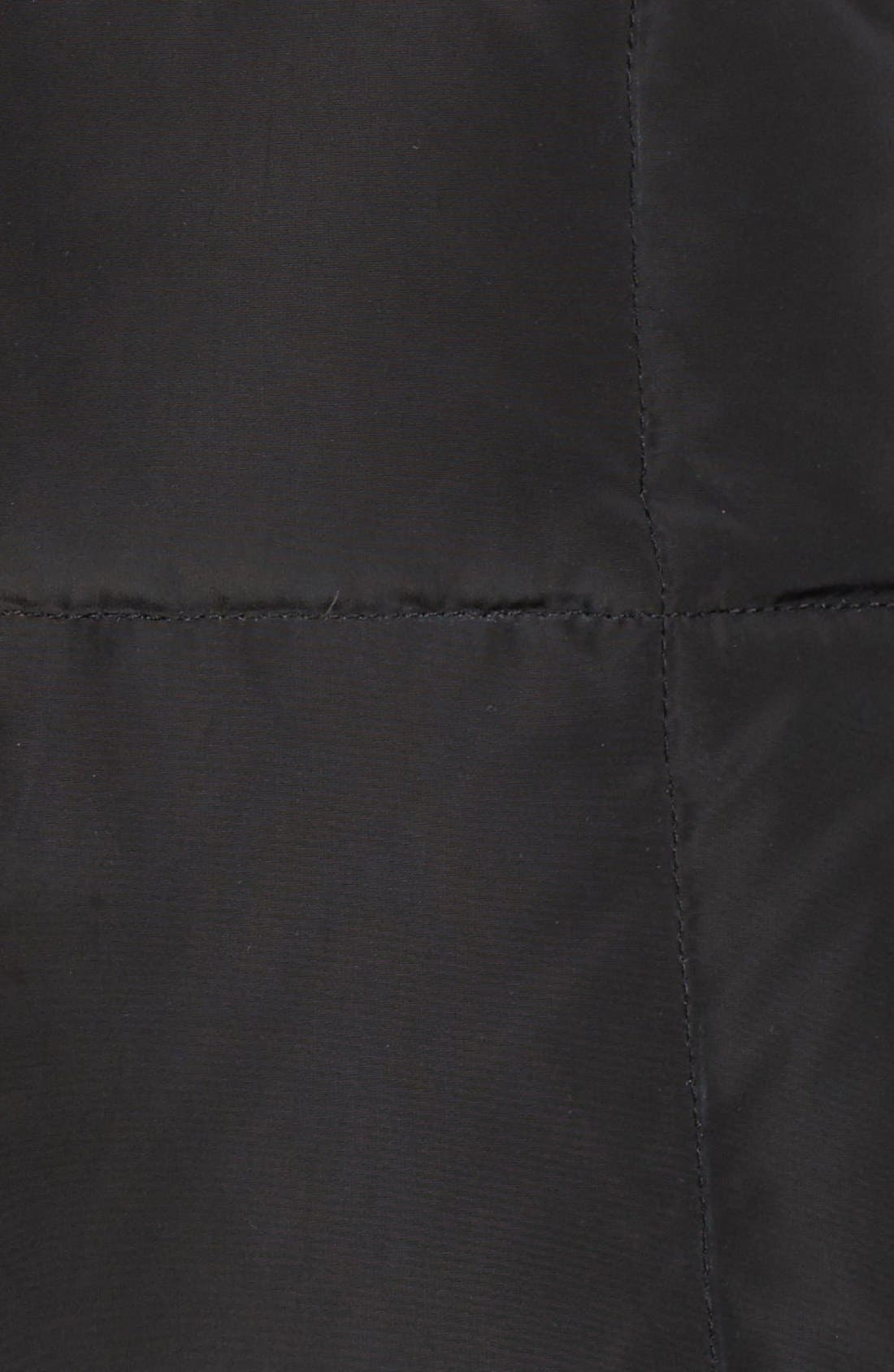 Alternate Image 5  - Cole Haan Quilted Coat with Inner Bib