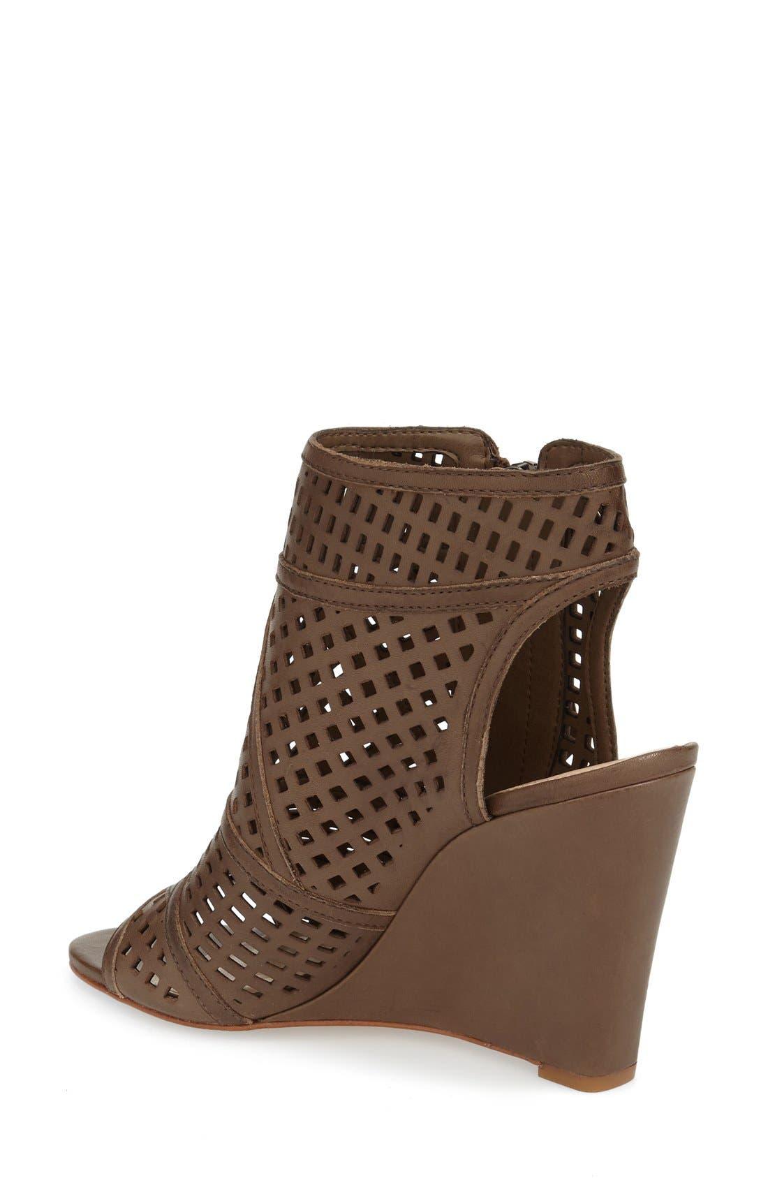 Alternate Image 2  - Vince Camuto 'Xabrina' Perforated Wedge Sandal (Women)
