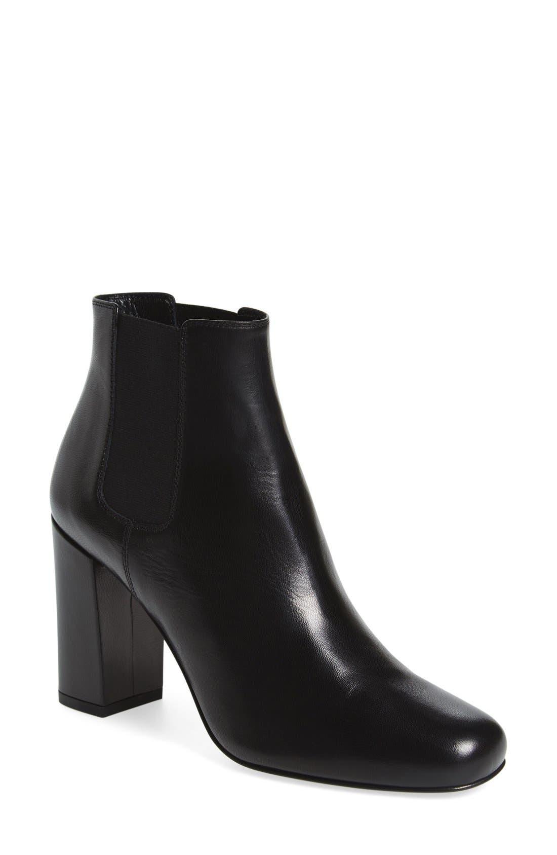 Main Image - Saint Laurent 'Babies' Block Heel Chelsea Boot (Women)