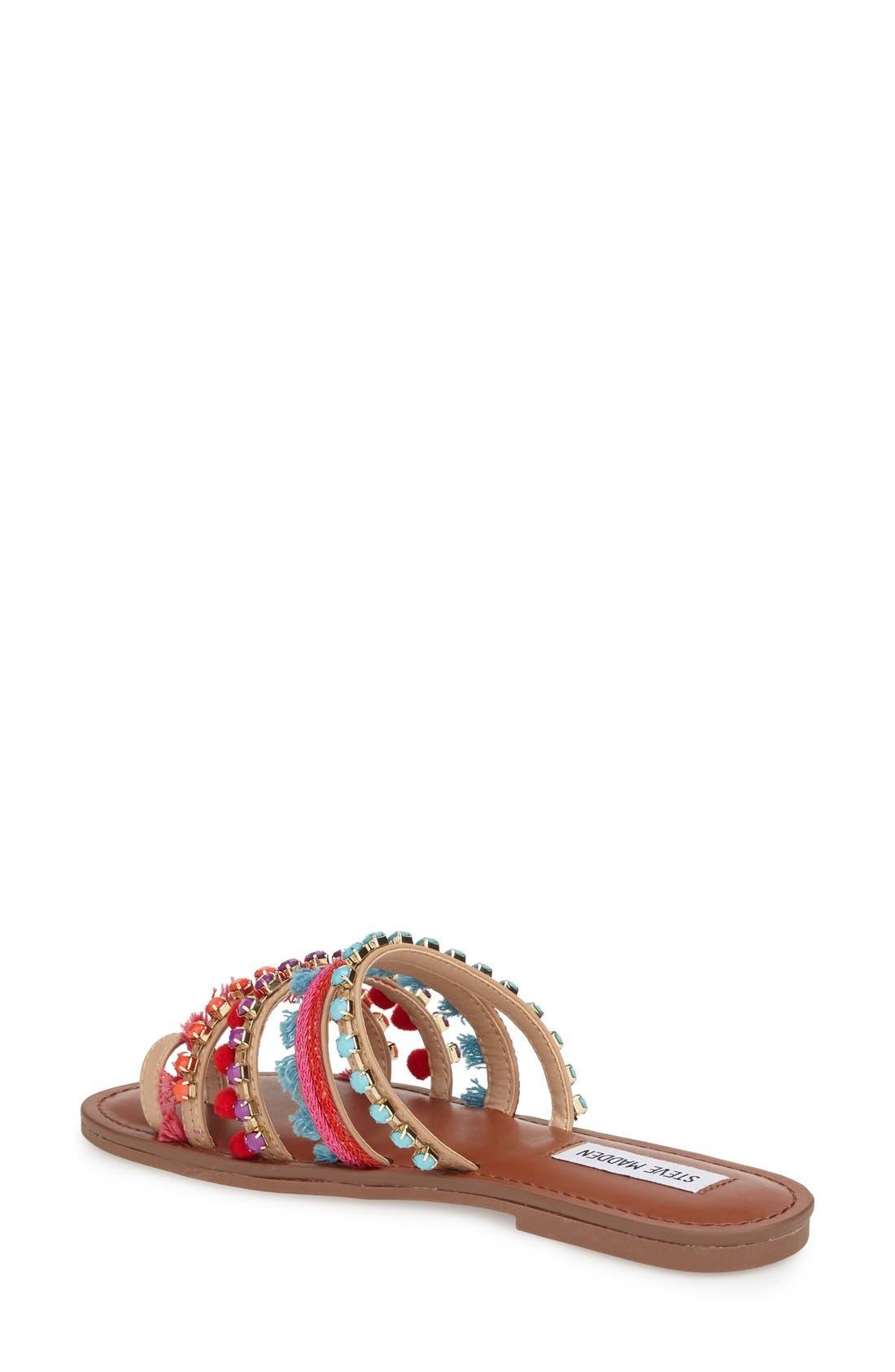 Alternate Image 2  - Steve Madden Multicolor Slide Sandal (Women)