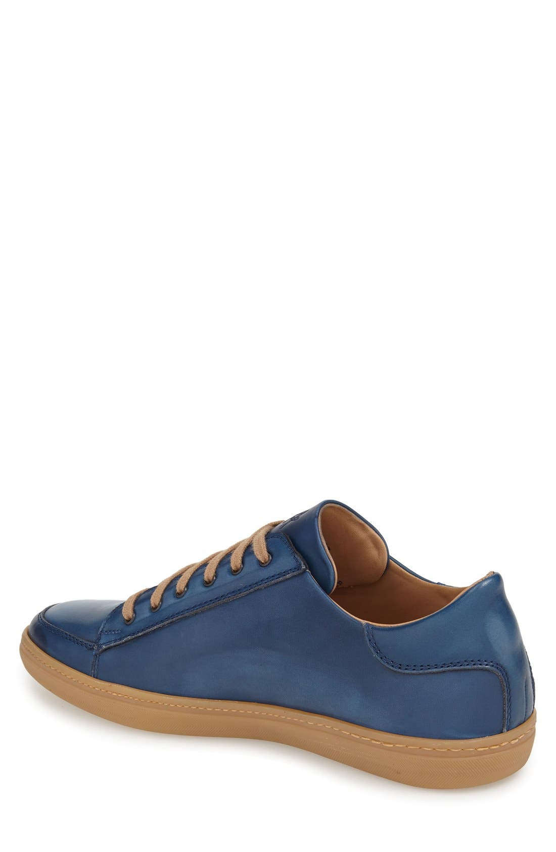 'Masi' Lace-Up Sneaker,                             Alternate thumbnail 2, color,                             Blue