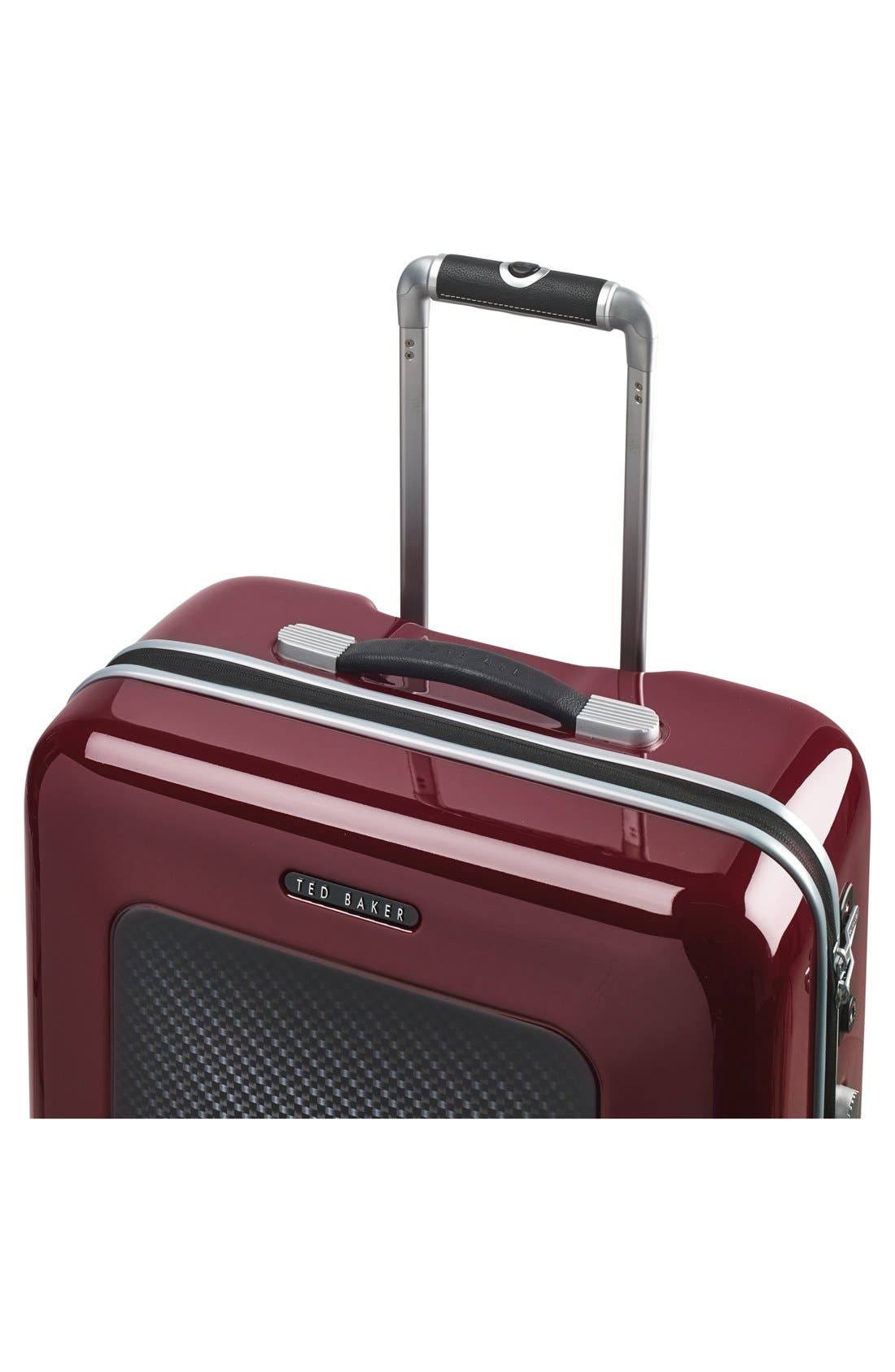 Alternate Image 5  - Ted Baker London 'Large Burgundy' Four Wheel Suitcase (31 Inch)