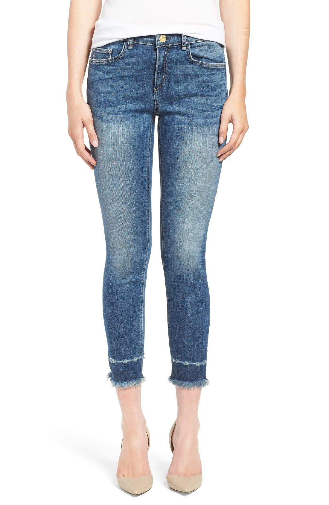 Alternate Image 1 Selected - McGuire 'Newton' Released Hem Crop Skinny Jeans (Iona)