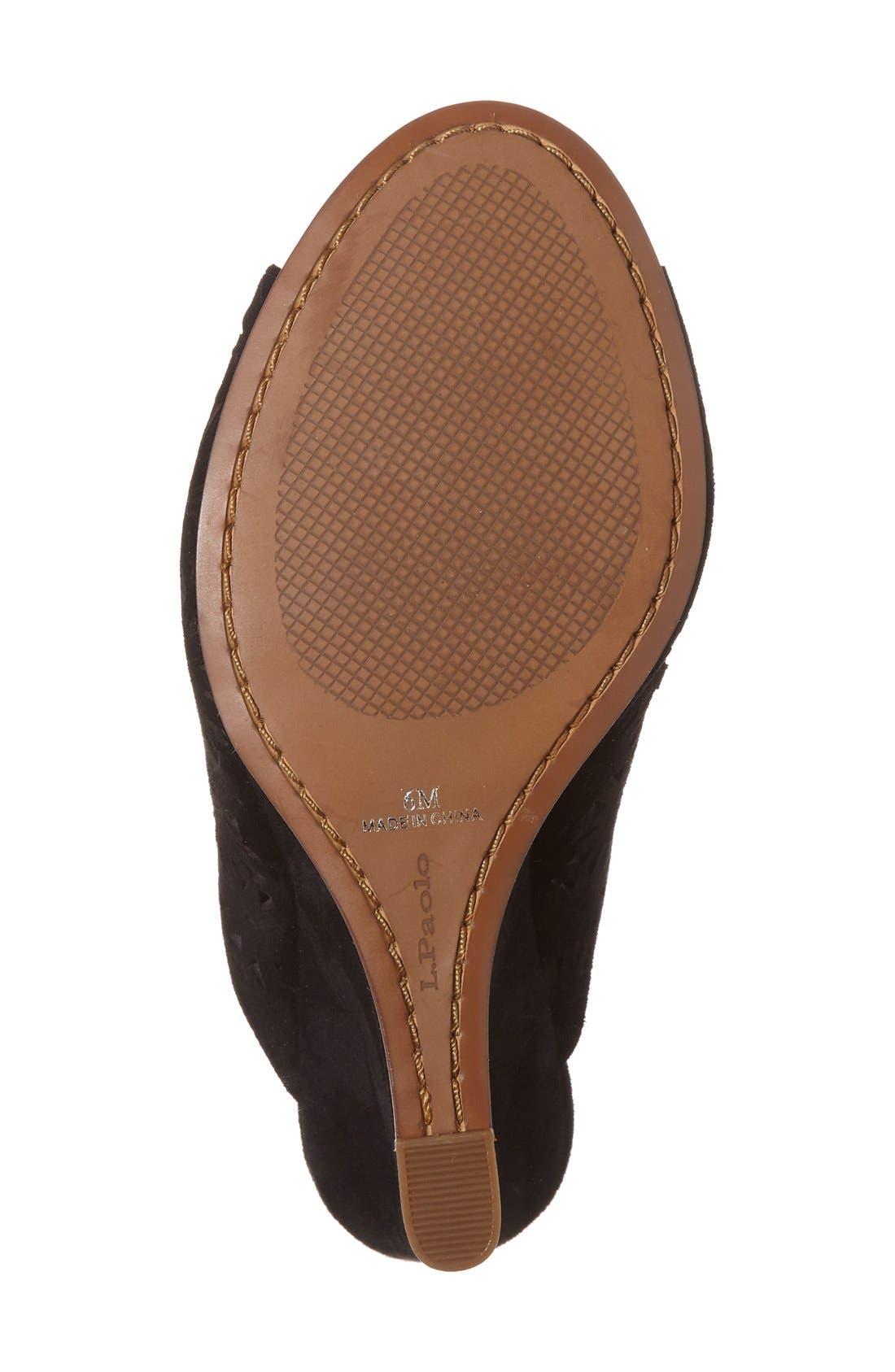 Alternate Image 4  - Linea Paolo 'Wendy' Wedge Sandal (Women)