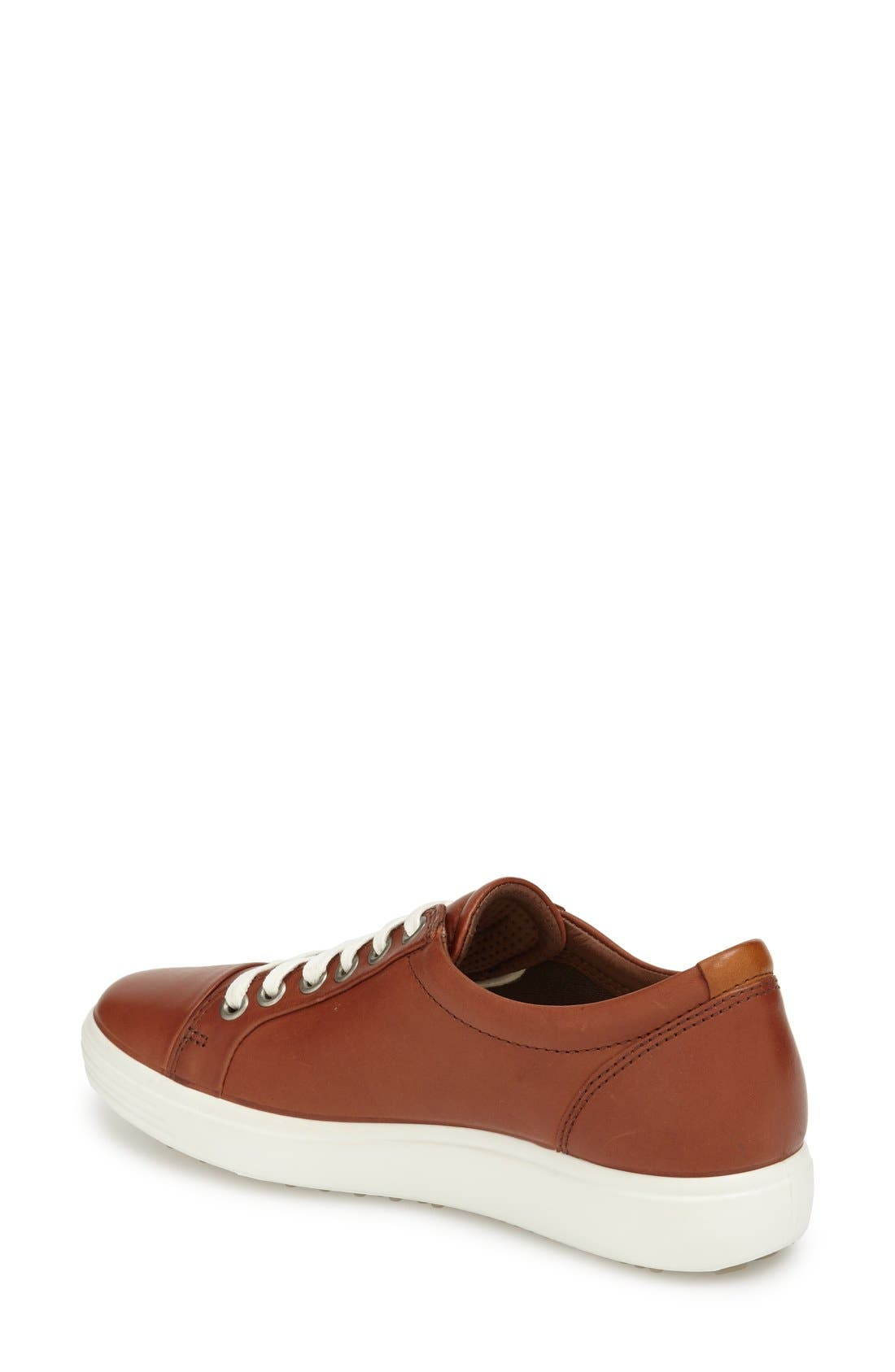 Alternate Image 2  - ECCO 'Soft 7' Cap Toe Sneaker (Women)