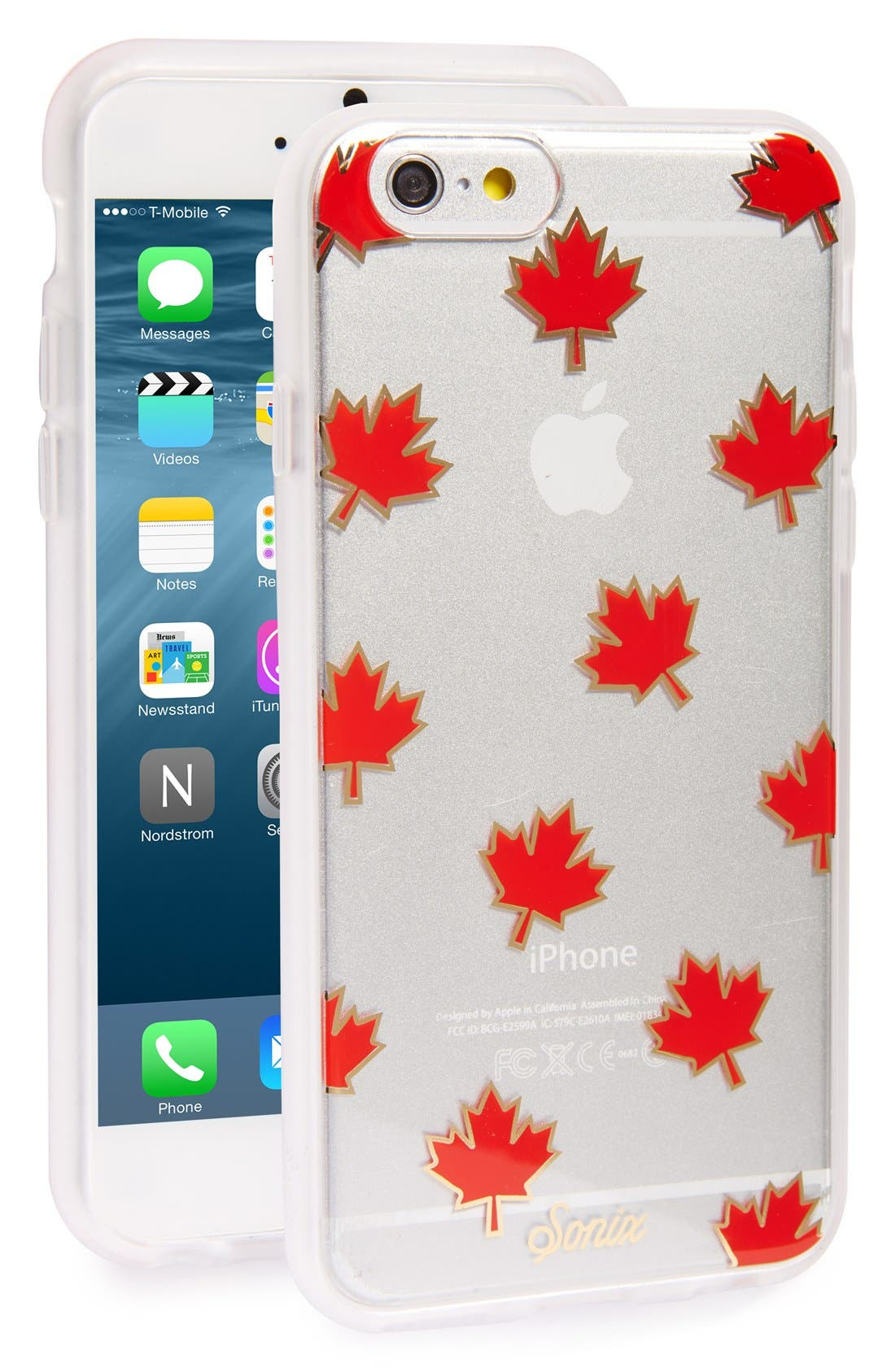 Alternate Image 1 Selected - Sonix Maple Leaf iPhone 6/6s Case (Nordstrom Exclusive)