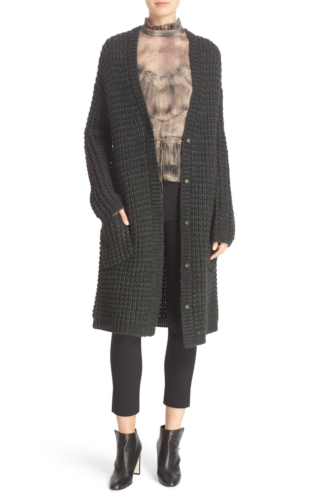 Tracy Reese Chunky Sweater Coat | Nordstrom