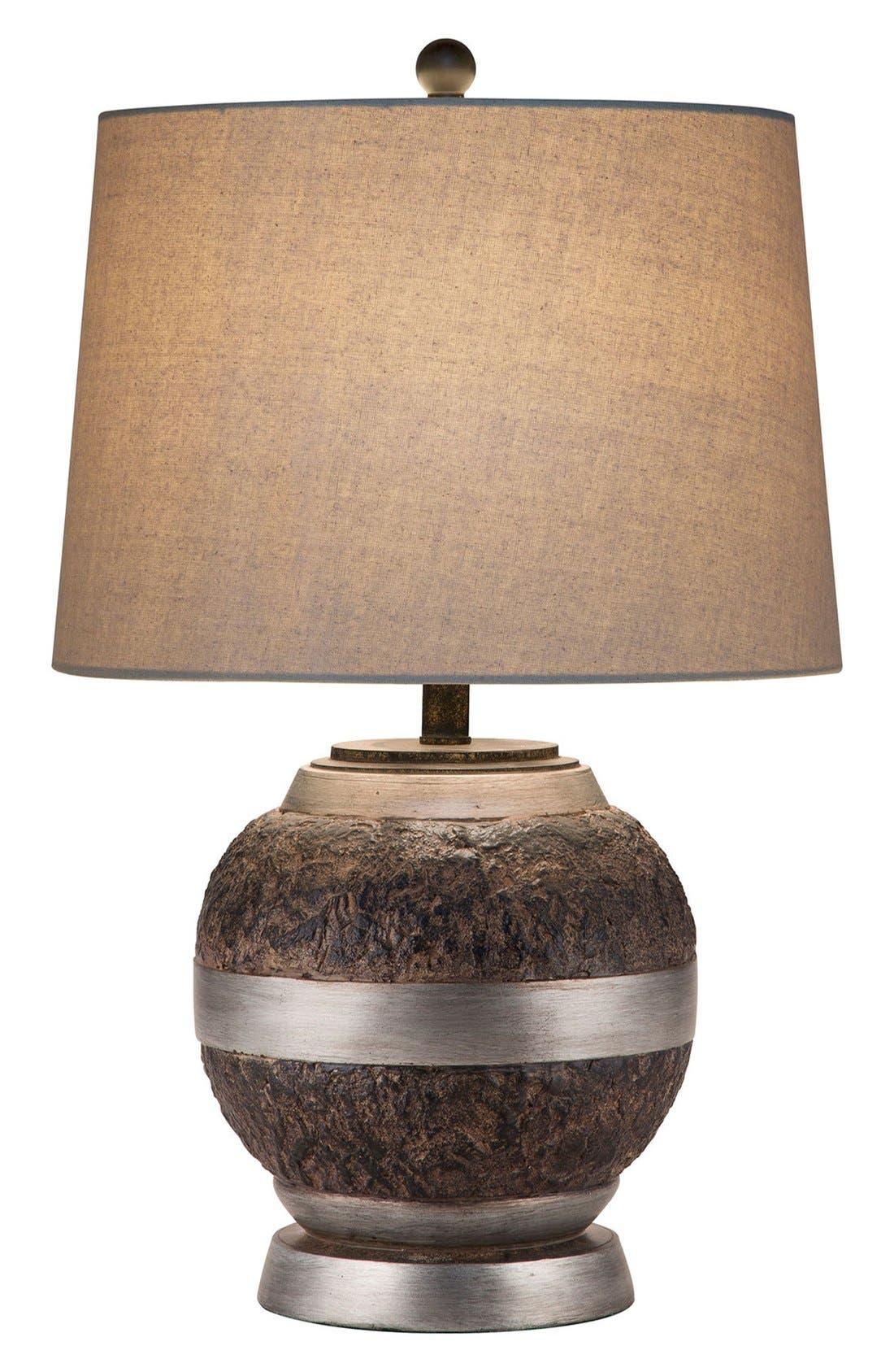 JAlexander Textured Bronze Finish Table Lamp