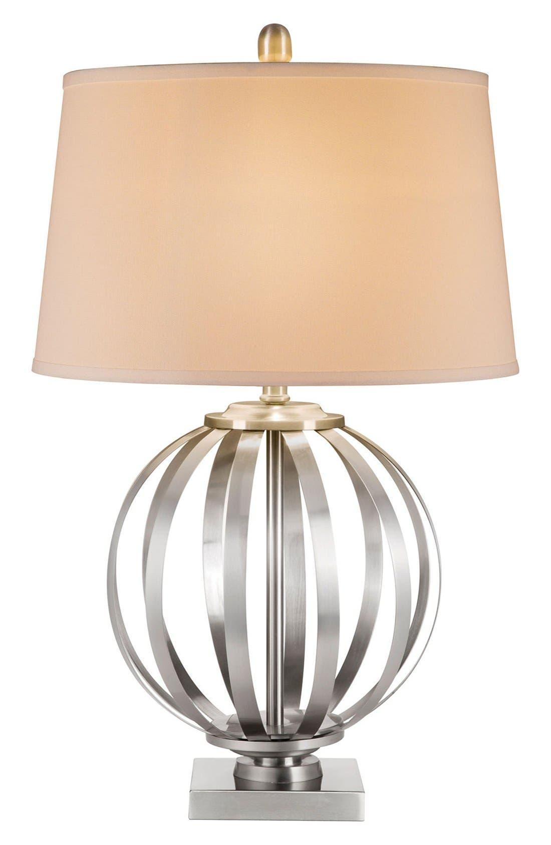 Alternate Image 1 Selected - JAlexander Metal Orb Table Lamp