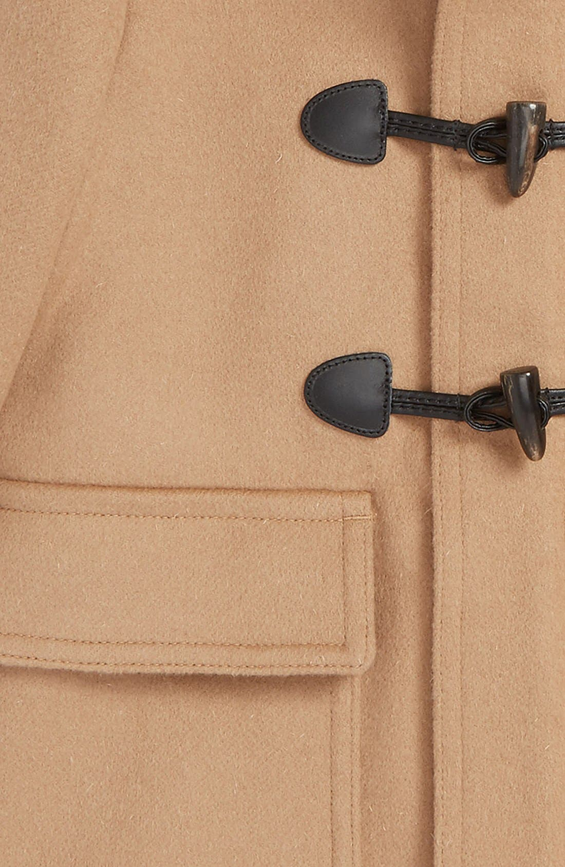 'Burwood' Wool Toggle Coat,                             Alternate thumbnail 2, color,                             New Camel