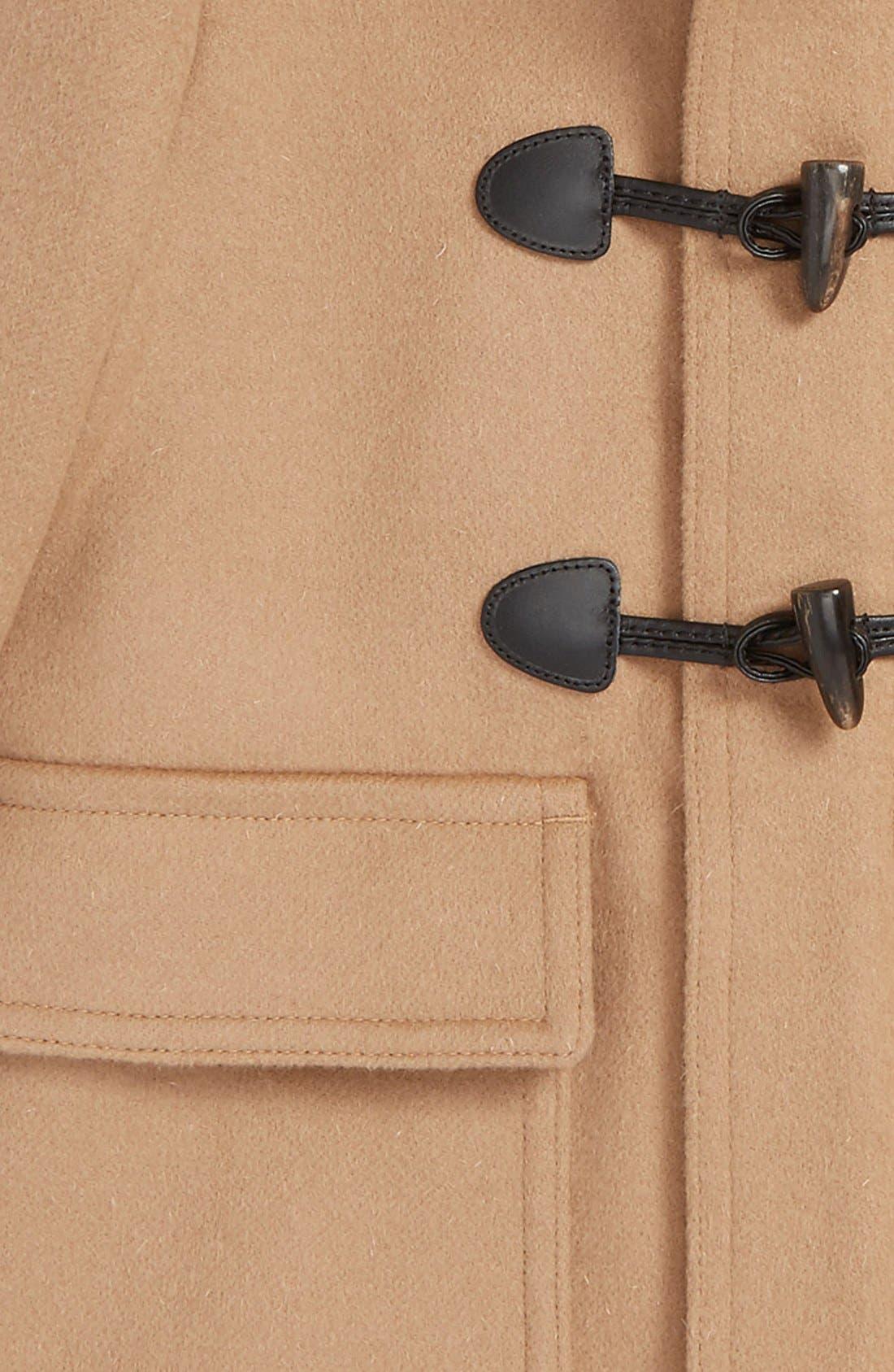 Alternate Image 2  - Burberry 'Burwood' Wool Toggle Coat (Little Boys & Big Boys)