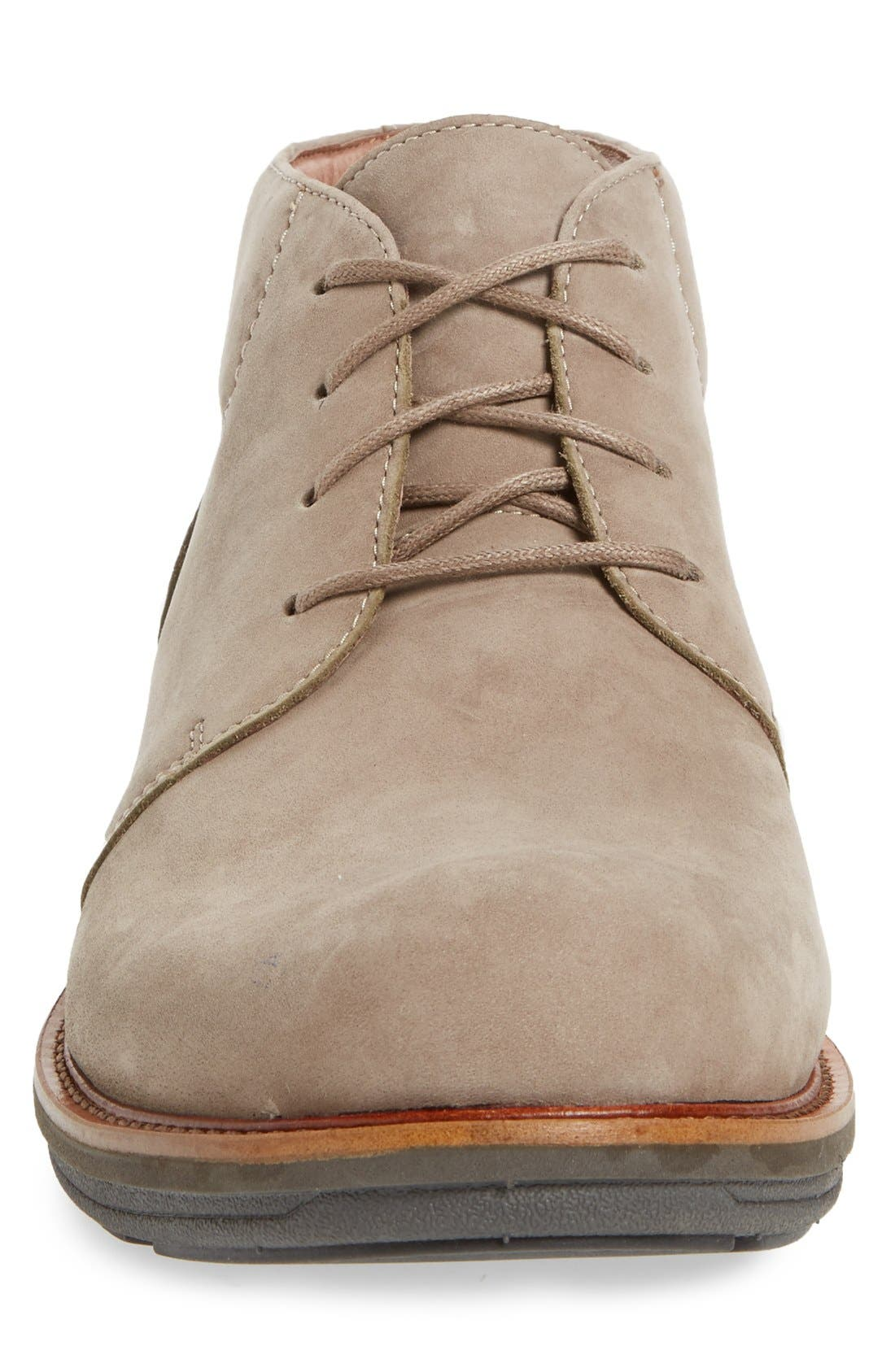 'Jake' Chukka Boot,                             Alternate thumbnail 3, color,                             Taupe Milled Nubuck Leather