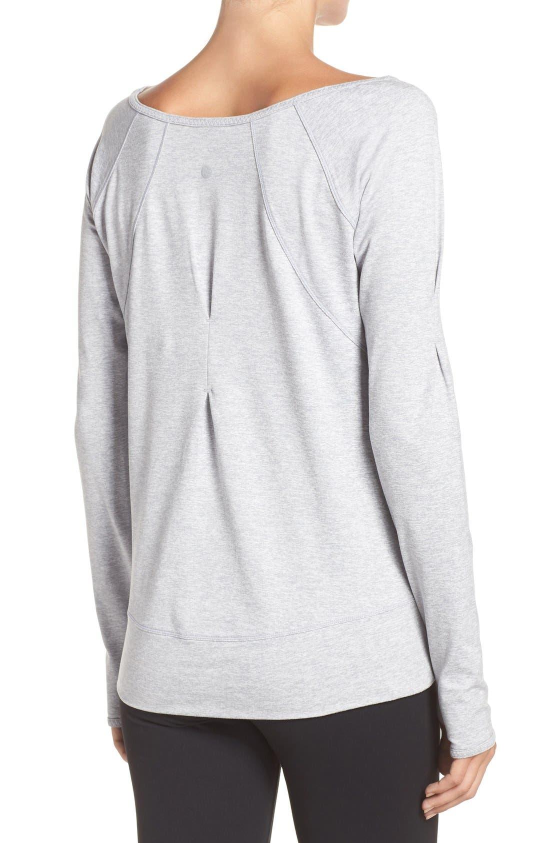 Alternate Image 2  - Zella Etoile Pullover Sweatshirt