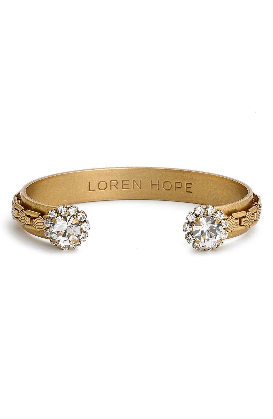 Loren Hope 'Marley' Crystal Cuff