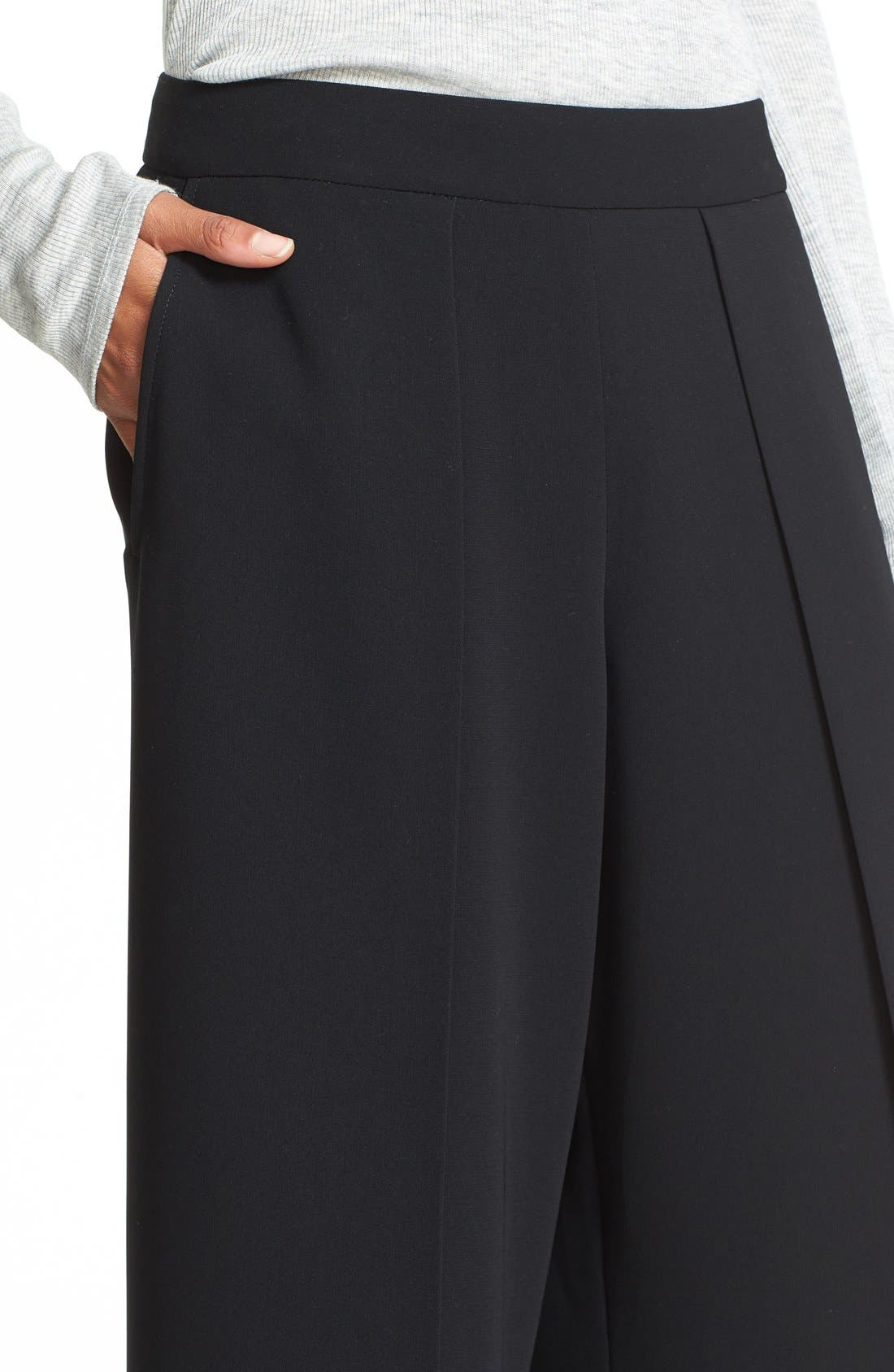 Alternate Image 5  - rag & bone 'Rowe' Pleat Crop Pants