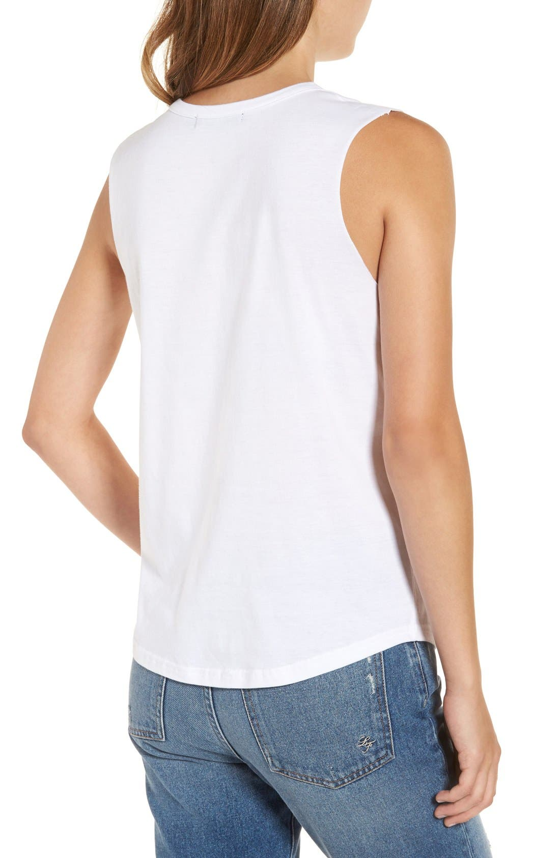 Alternate Image 2  - Missguided 'Girl Gang' Cotton Muscle Tee