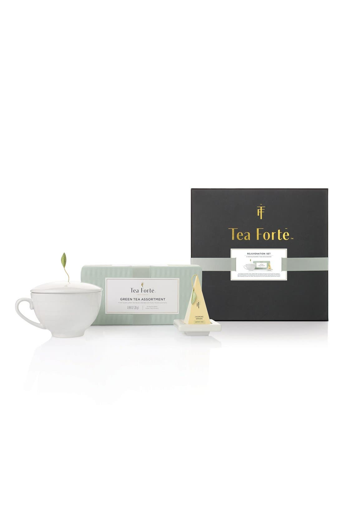 Tea Forté 'Rejuvenation' Green Tea Gift Set