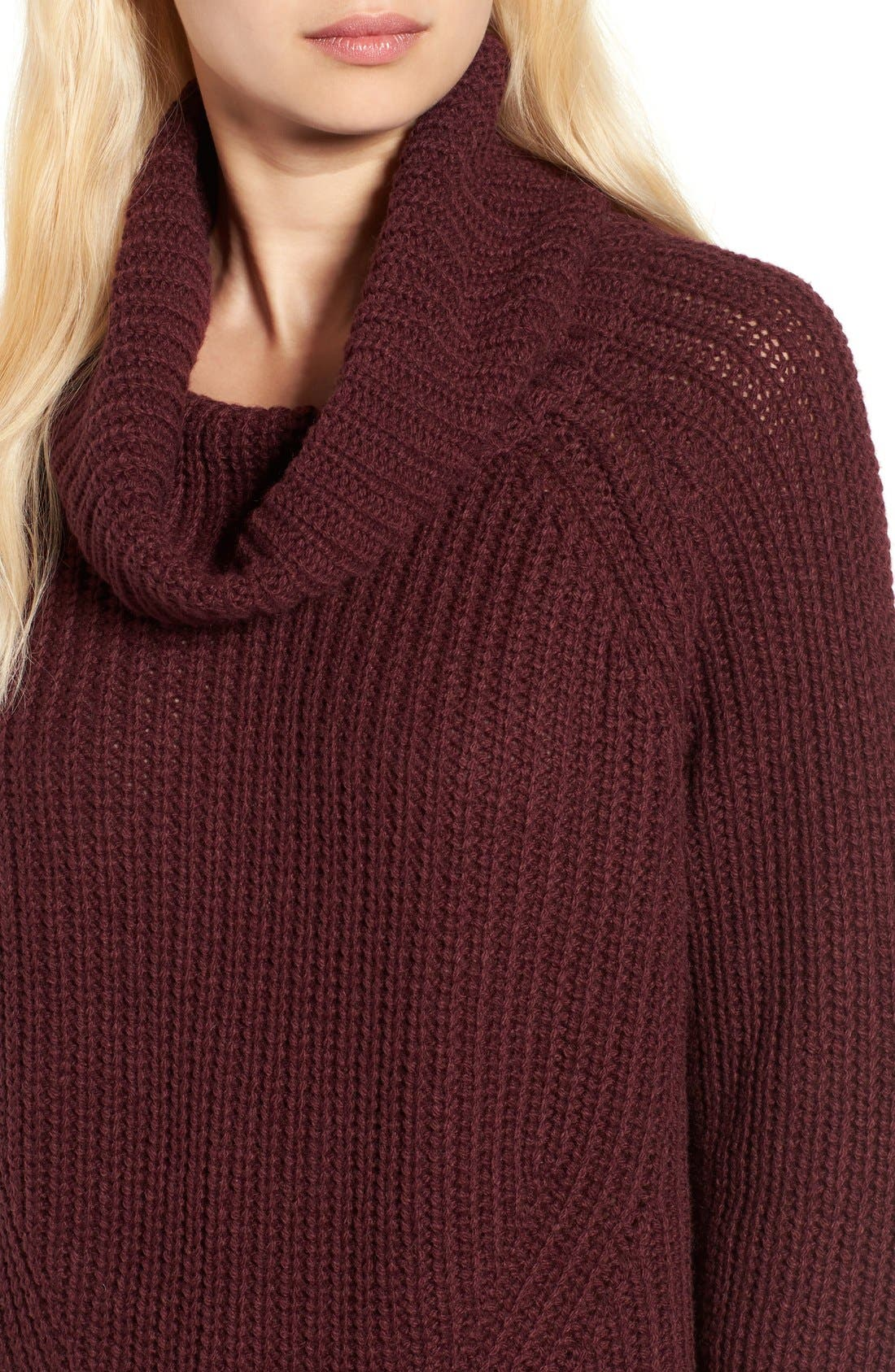 Alternate Image 4  - BP. Cowl Neck Pullover Sweater