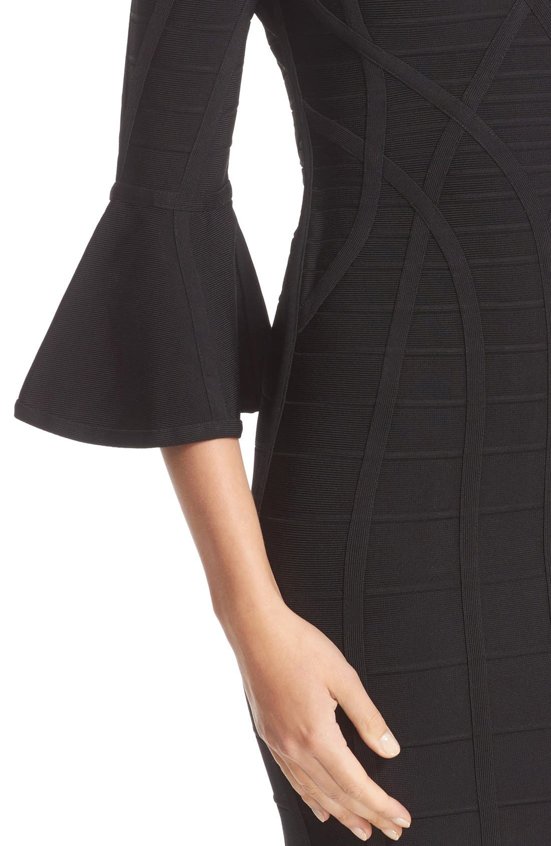 Alternate Image 5  - Herve Leger 'Yasmine' Open Back Bandage Dress