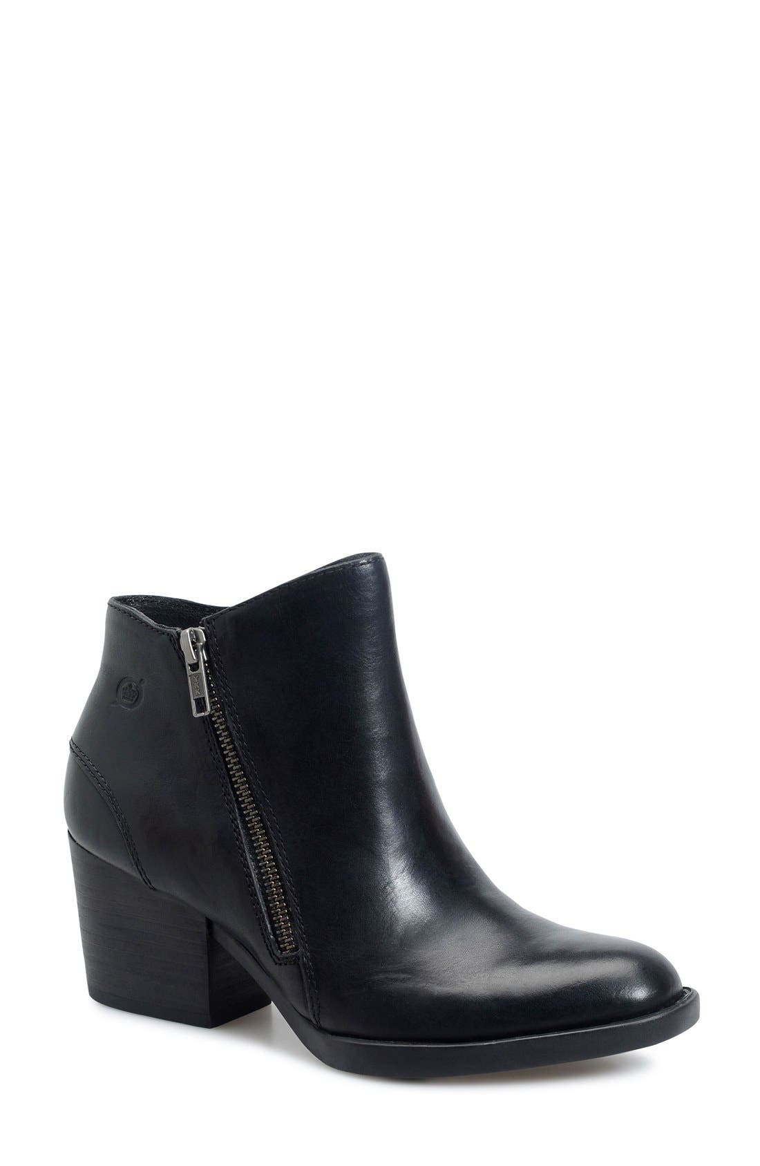 Alternate Image 1 Selected - Børn 'Rowell' Block Heel Bootie (Women)