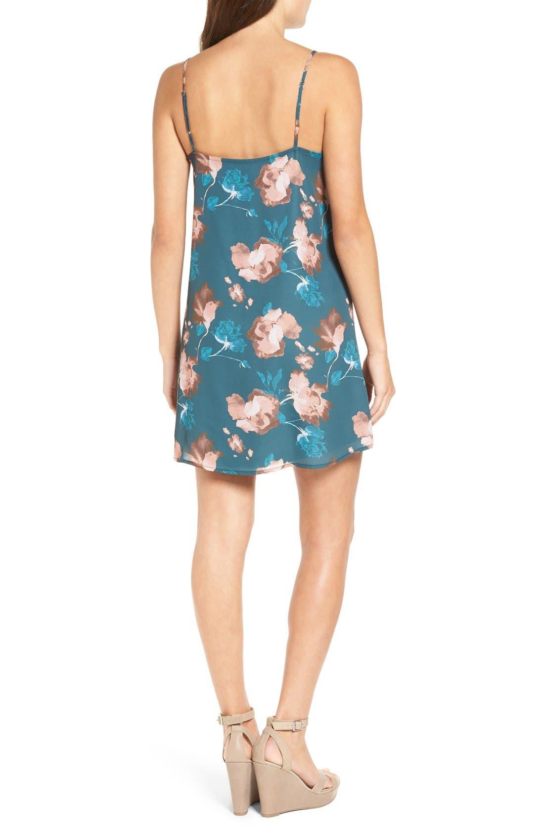 Alternate Image 2  - Ten Sixty Sherman Floral Print Slipdress