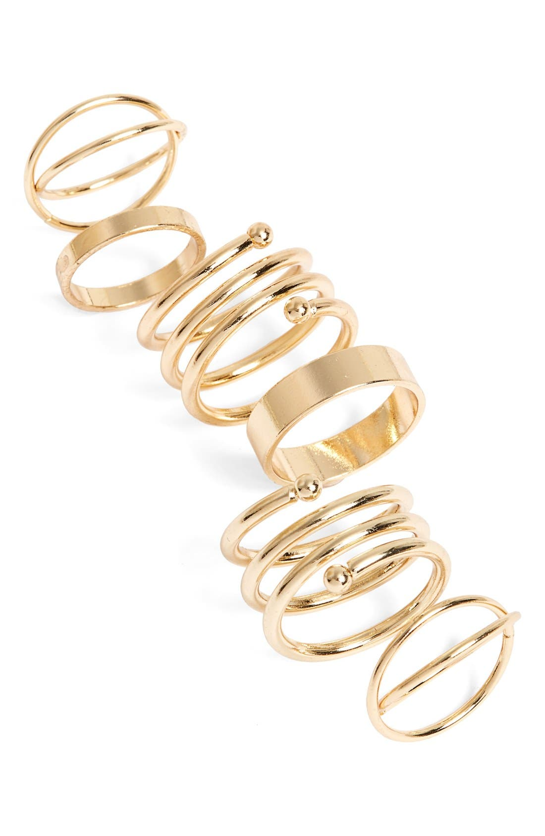 Alternate Image 1 Selected - BP. Rings (Set of 6)