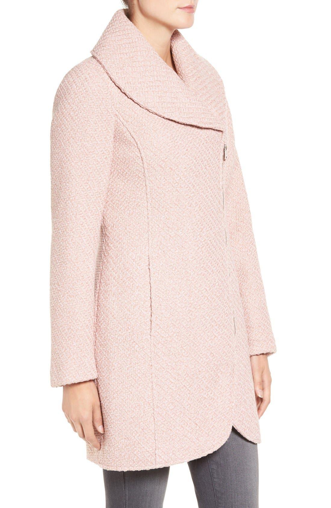 Alternate Image 3  - Jessica Simpson Shawl Collar Coat