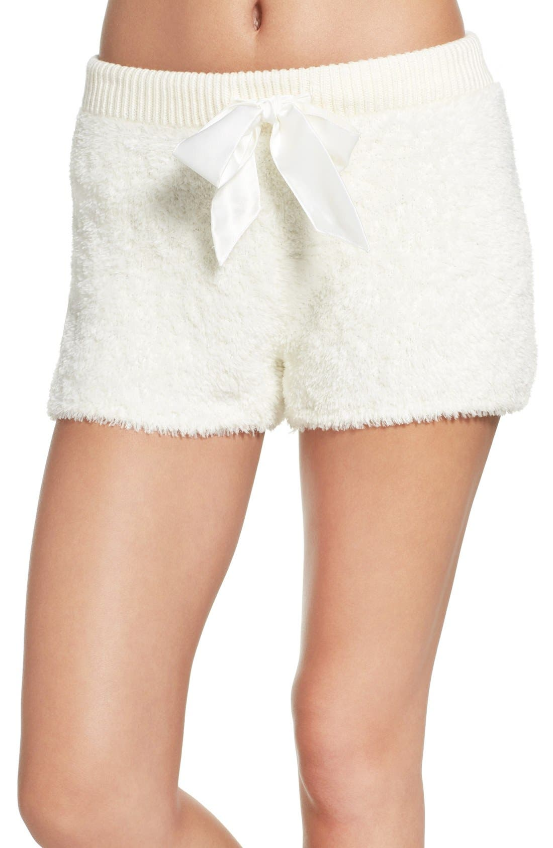 Make + Model Fuzzy Lounge Shorts