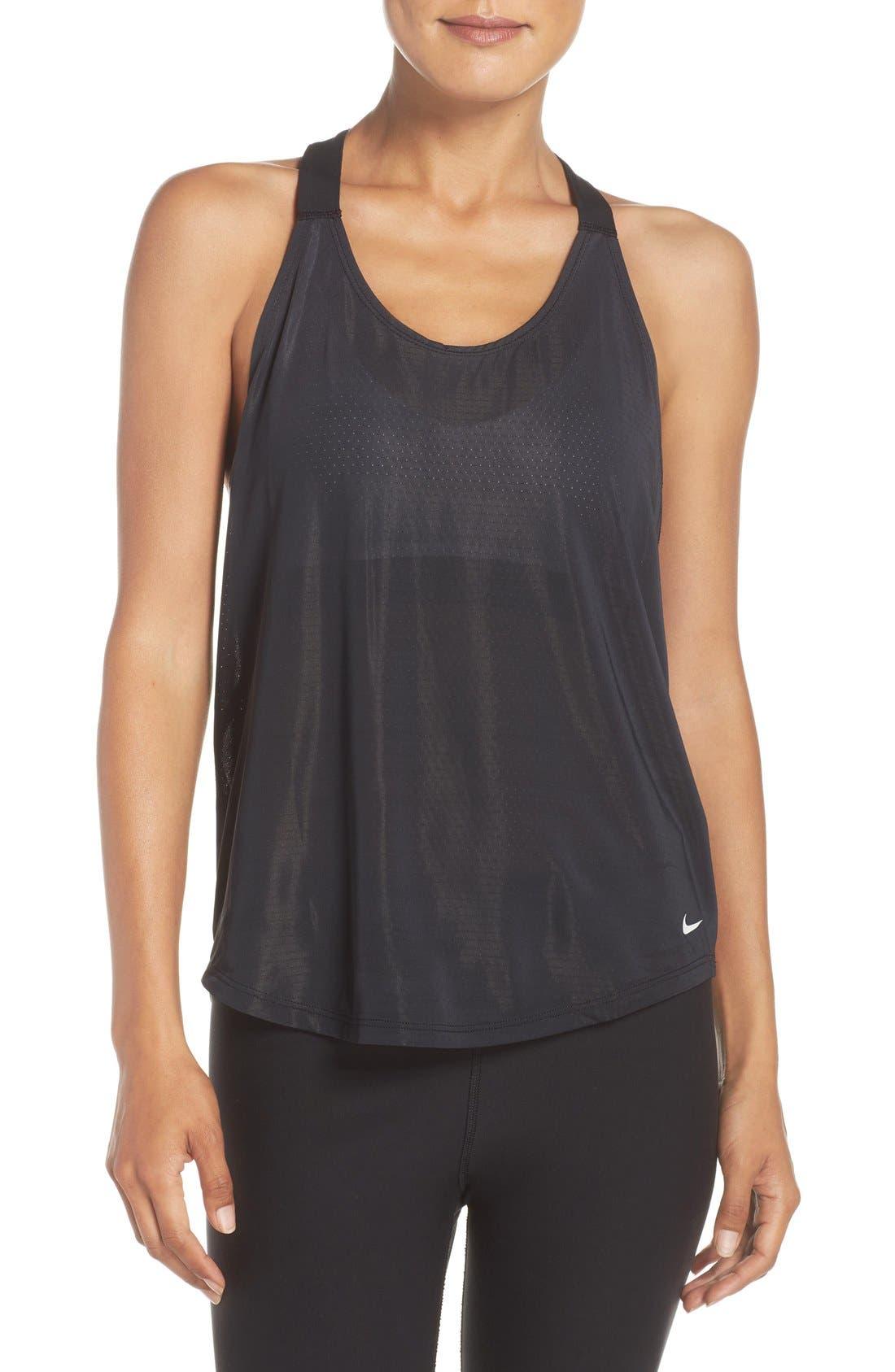 Alternate Image 1 Selected - Nike 'Elevate' Racerback Dri-FIT Tank (Regular Retail Price: $40.00)