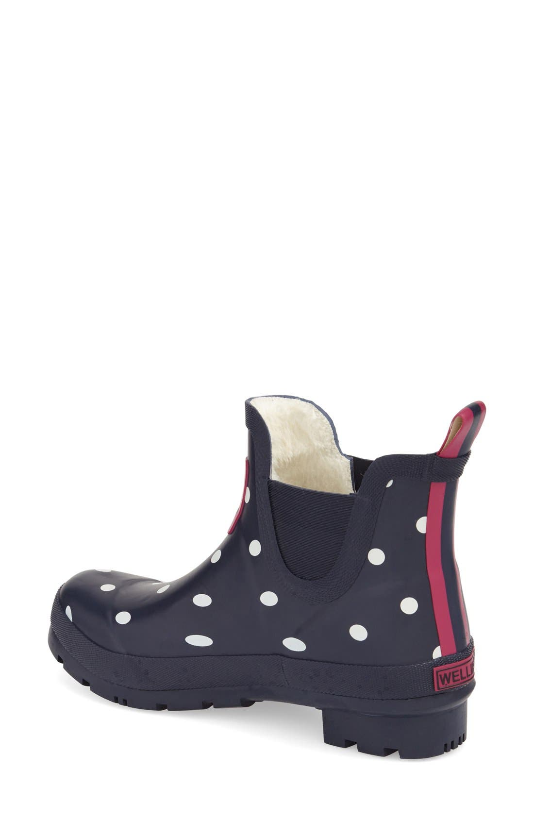 Alternate Image 2  - Joules 'Wellibob' Short Rain Boot (Women)