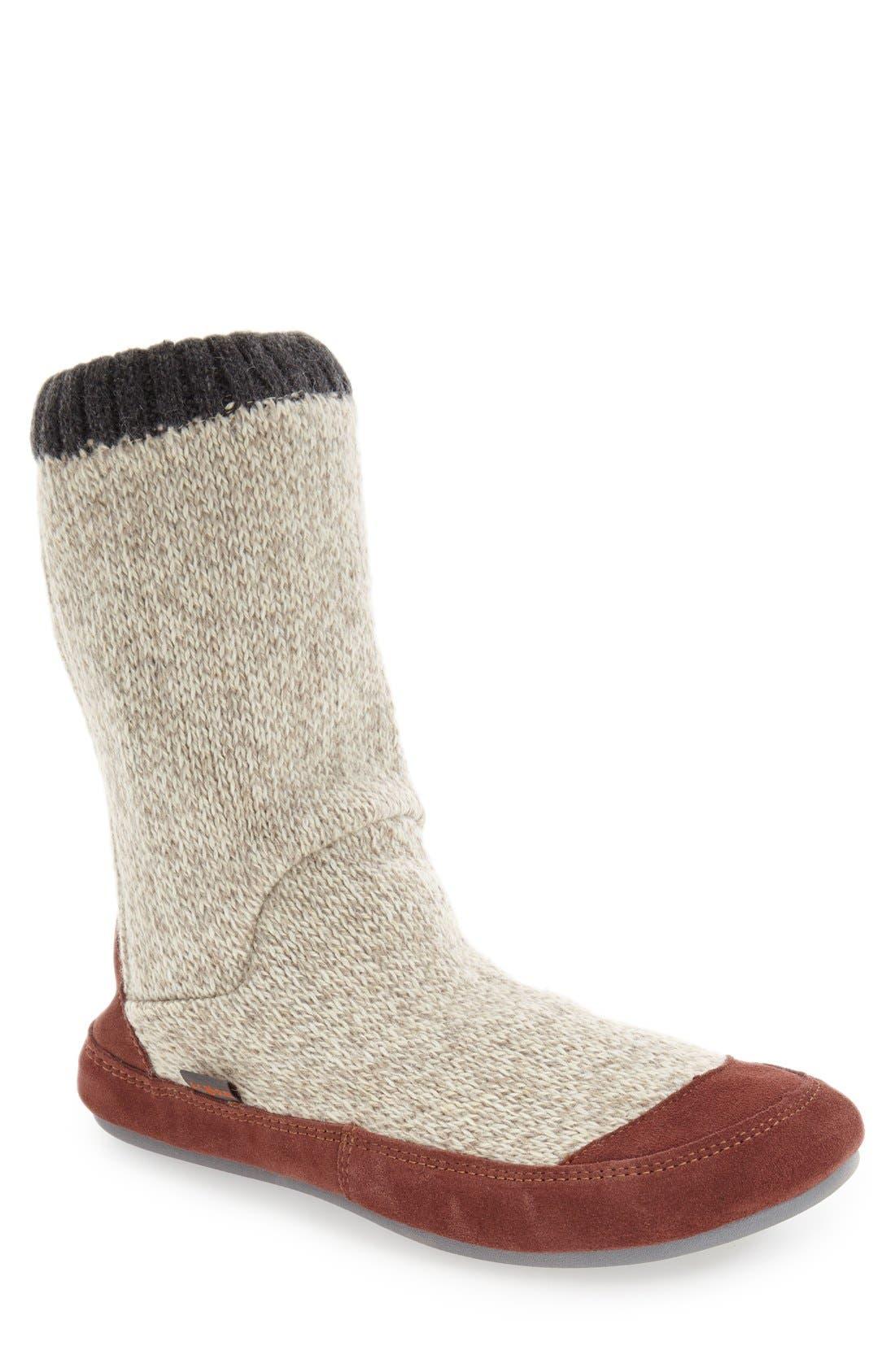 Alternate Image 1 Selected - Acorn 'Slouch Boot' Slipper (Men)